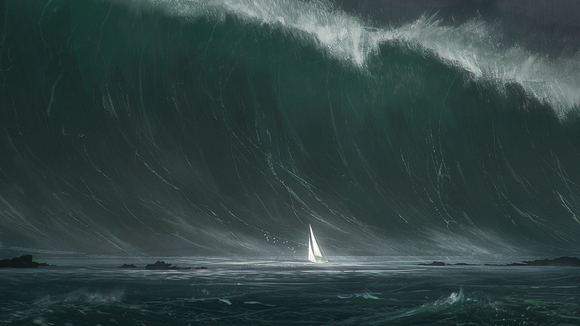 1920x1080 Explore Stormy Sea, Ocean Waves, and more!