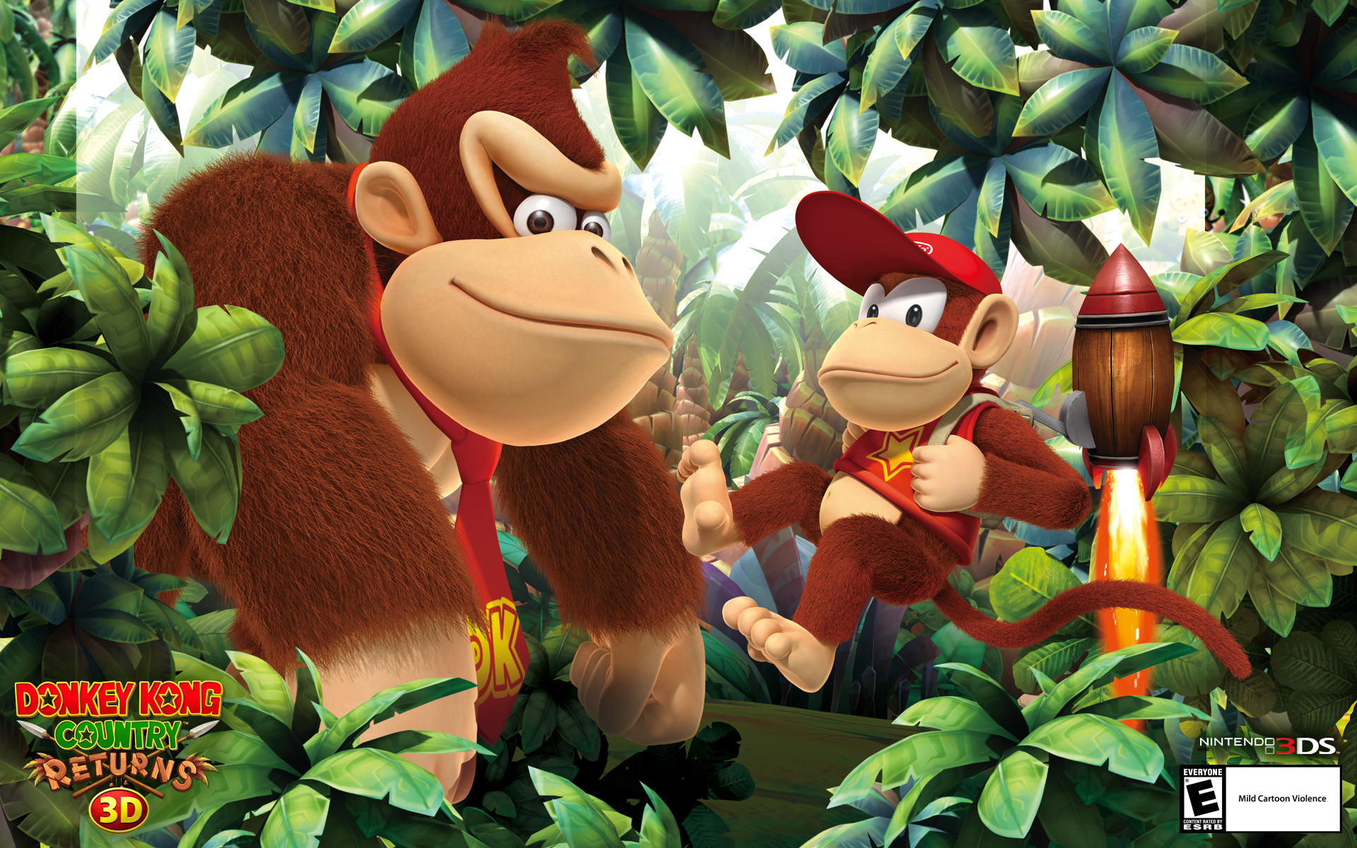 1920x1200 Wallpapers Donkey Kong Country Returns D for Nintendo DS
