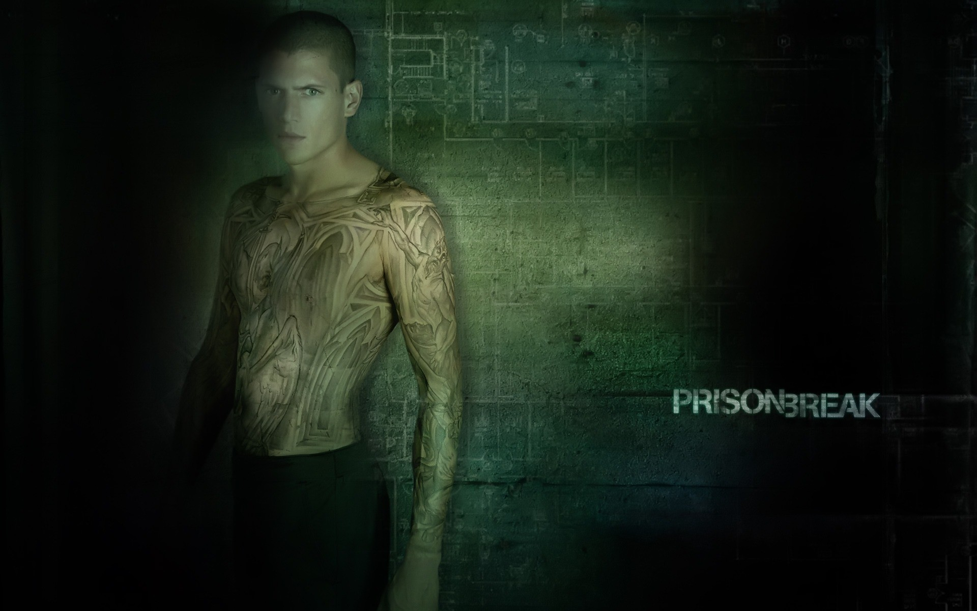 1920x1200 Prison Break Tattoo Wallpaper