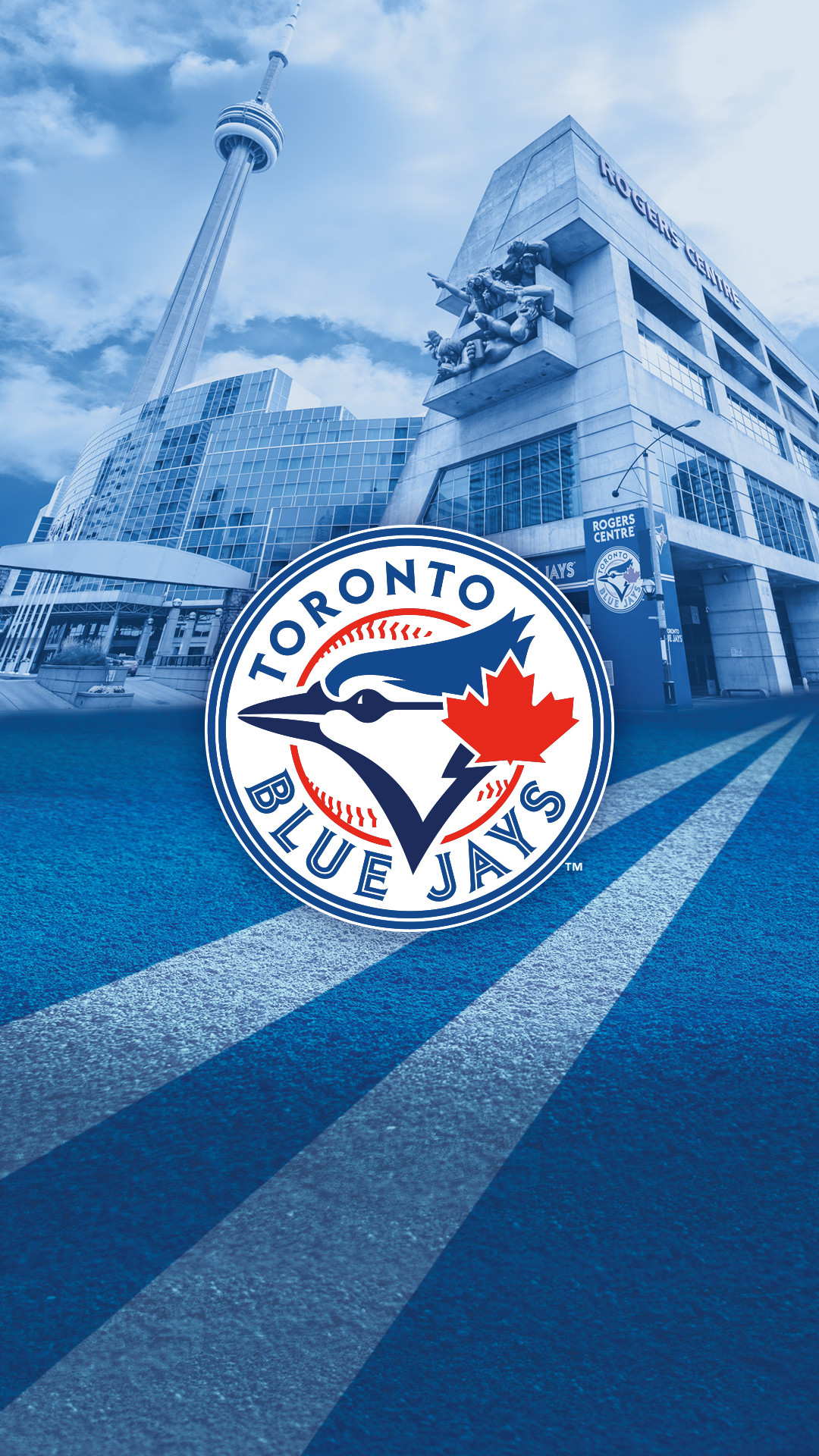 1080x1920 Official Toronto Blue Jays iPhone Wallpaper