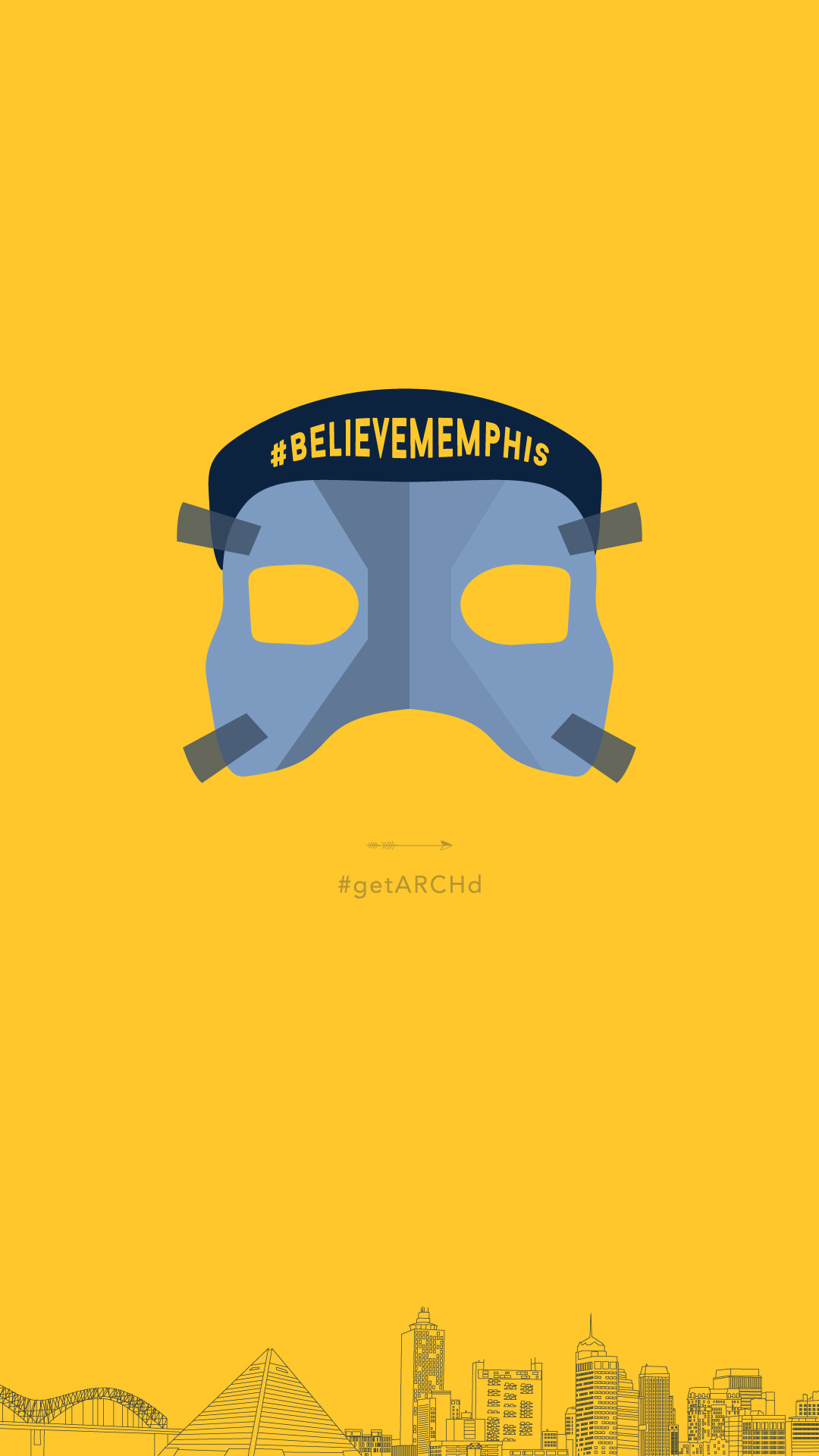 1080x1920 Memphis Grizzlies Mike Conley mask, Believe Memphis, iphone wallpaper  background free graphics download
