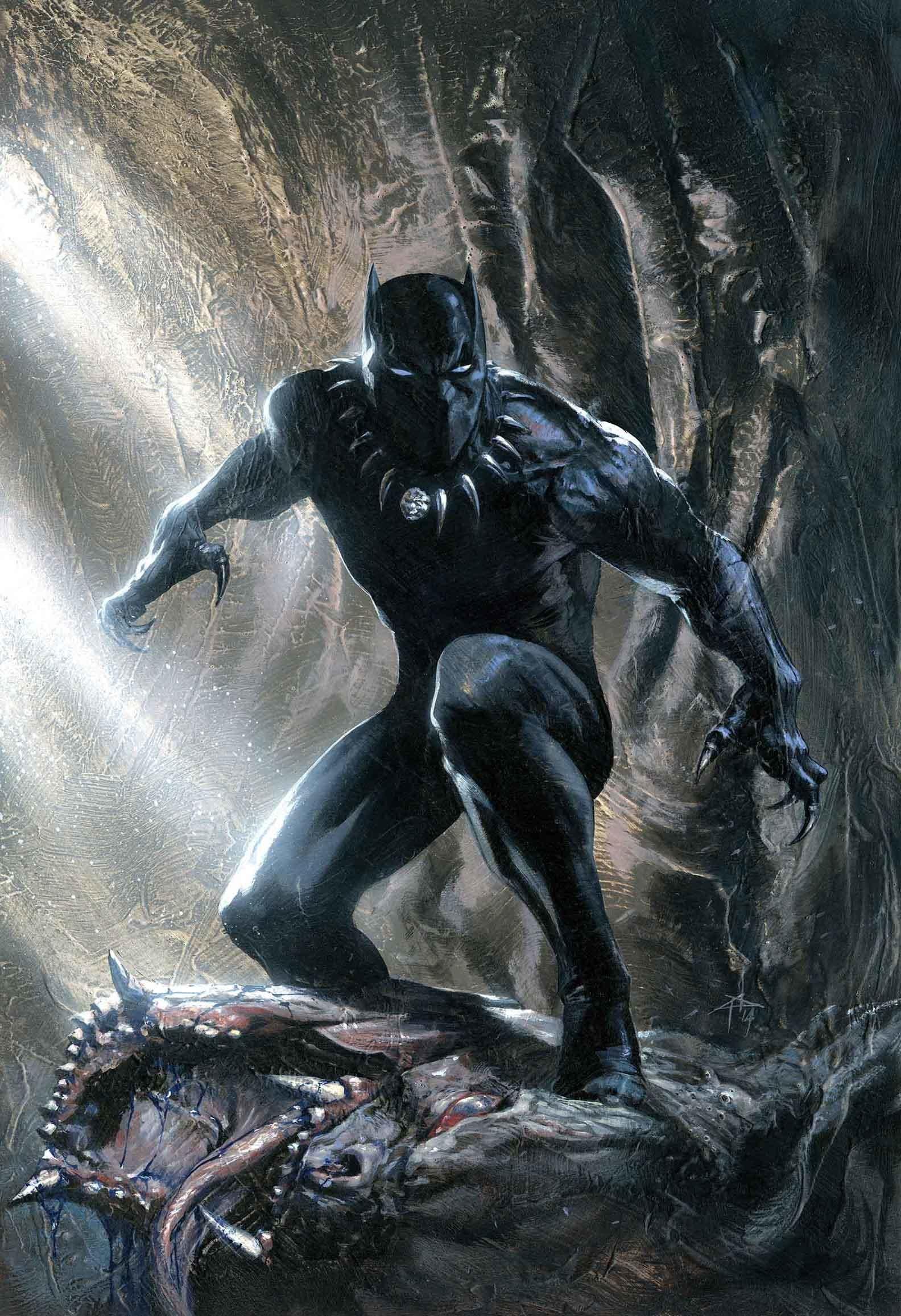 Black Panther Marvel Hd Wallpaper 73 Images