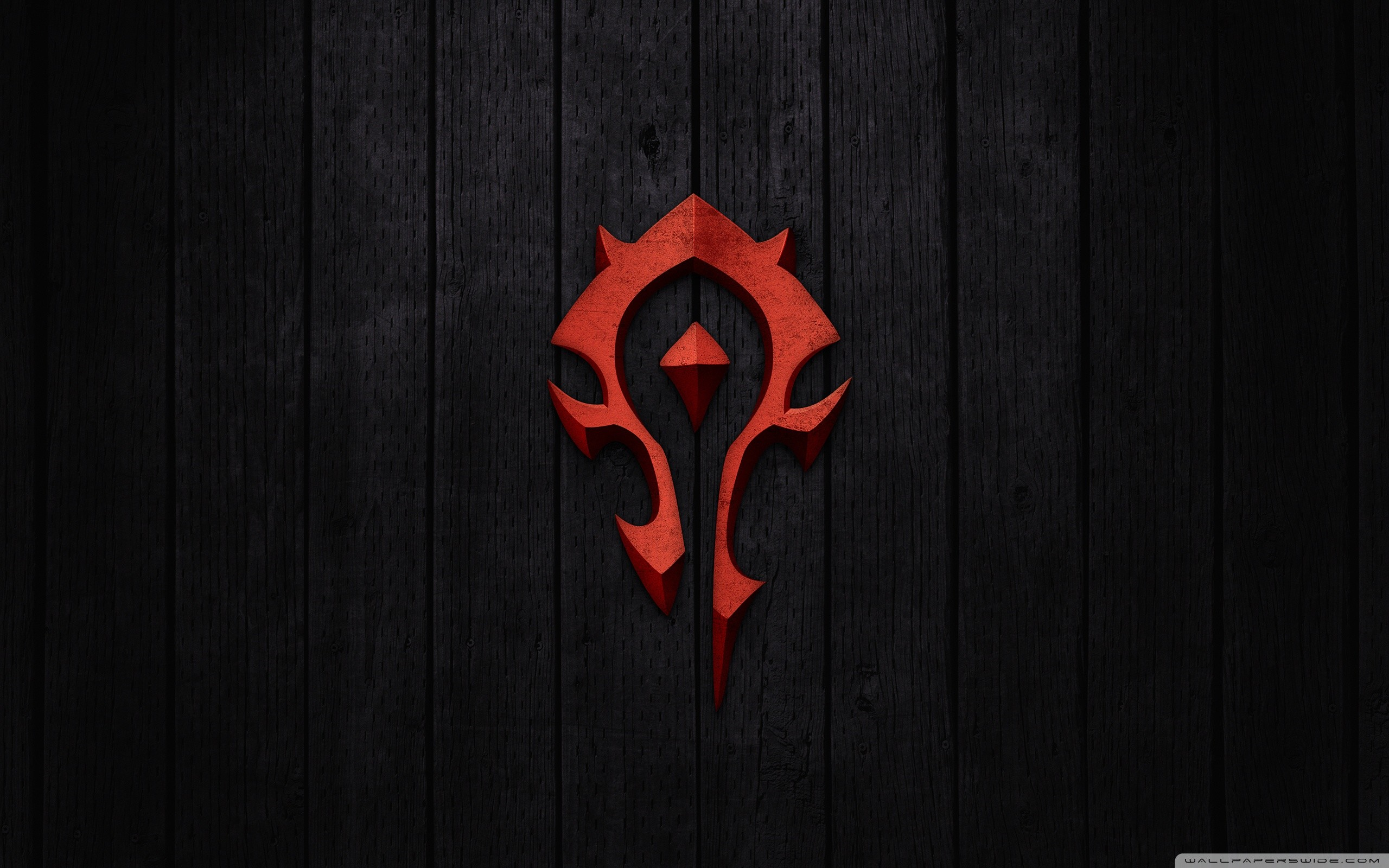 2560x1600 World of Warcraft - Horde Sign HD Wide Wallpaper for Widescreen