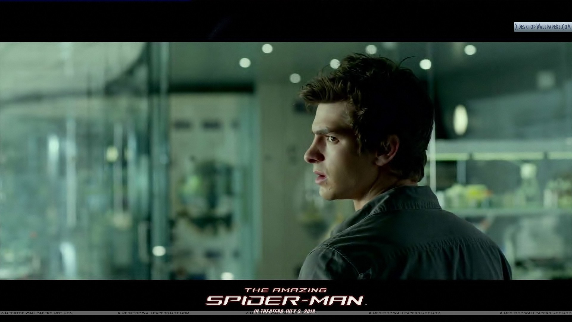 "1920x1080 You are viewing wallpaper titled ""The Amazing Spider-Man – Andrew Garfield  Looking Back"" from ..."