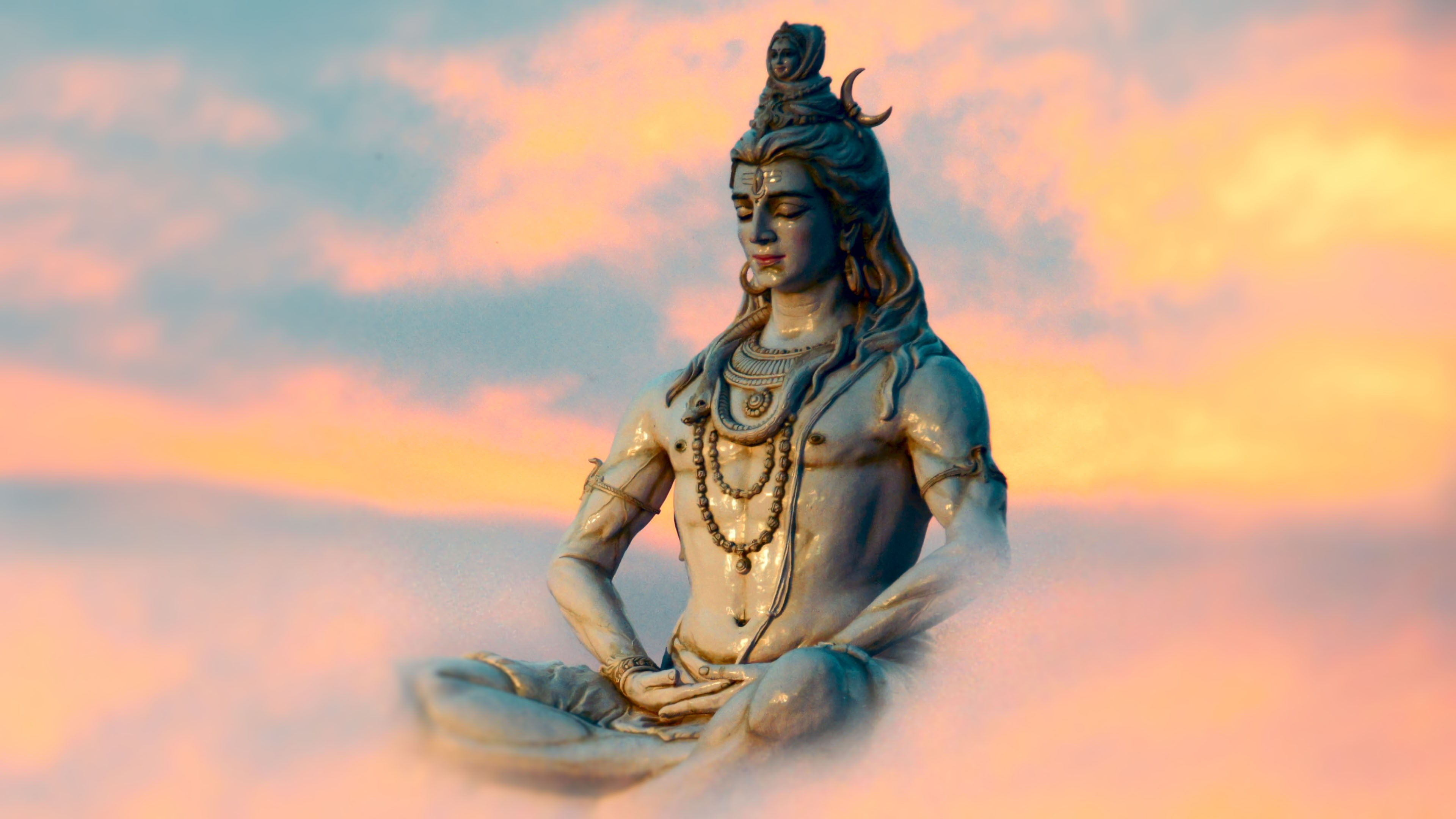 3840x2160 Lord Shiva HD Wallpapers