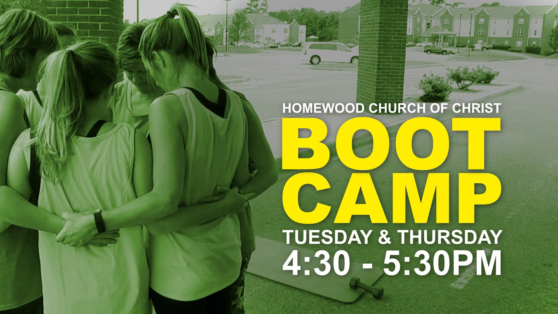 1920x1080 Homewood Church Boot Camp Promo