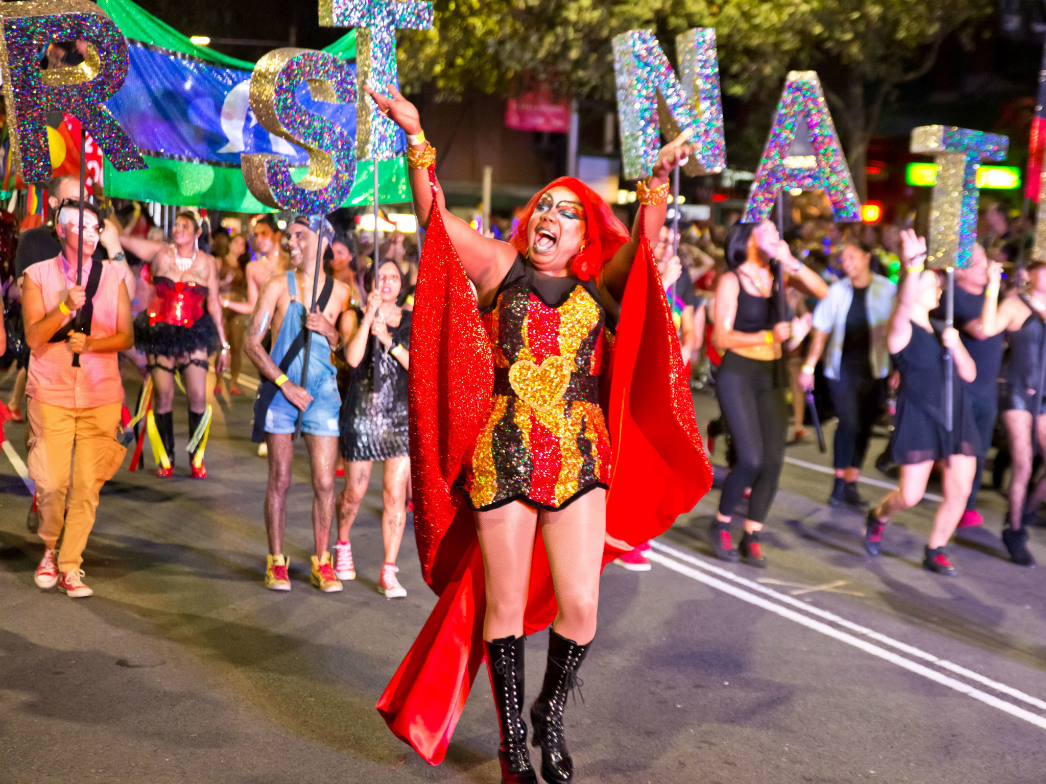 2048x1536 Mardi Gras events in Sydney