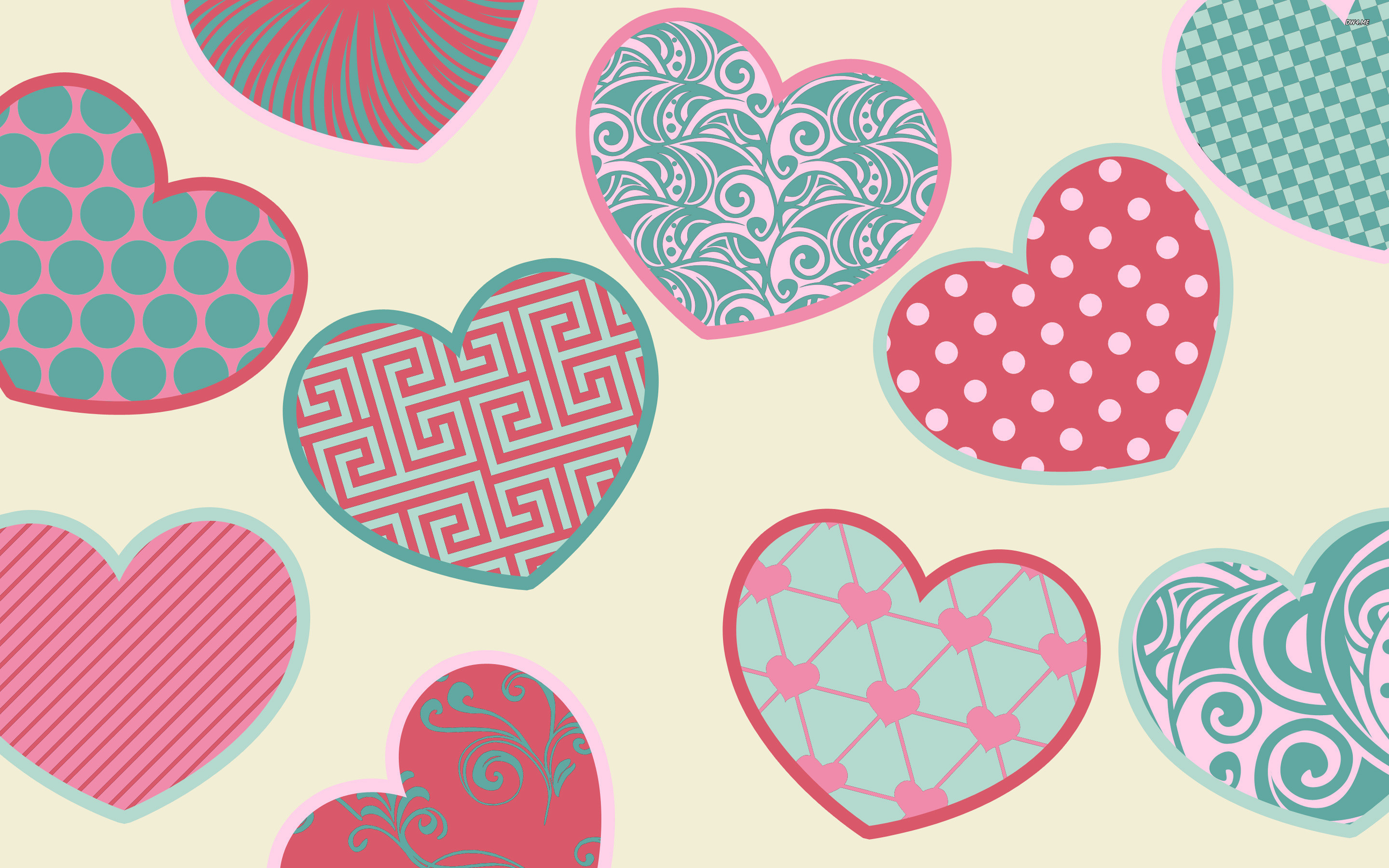Cute Heart Wallpaper 59 Images