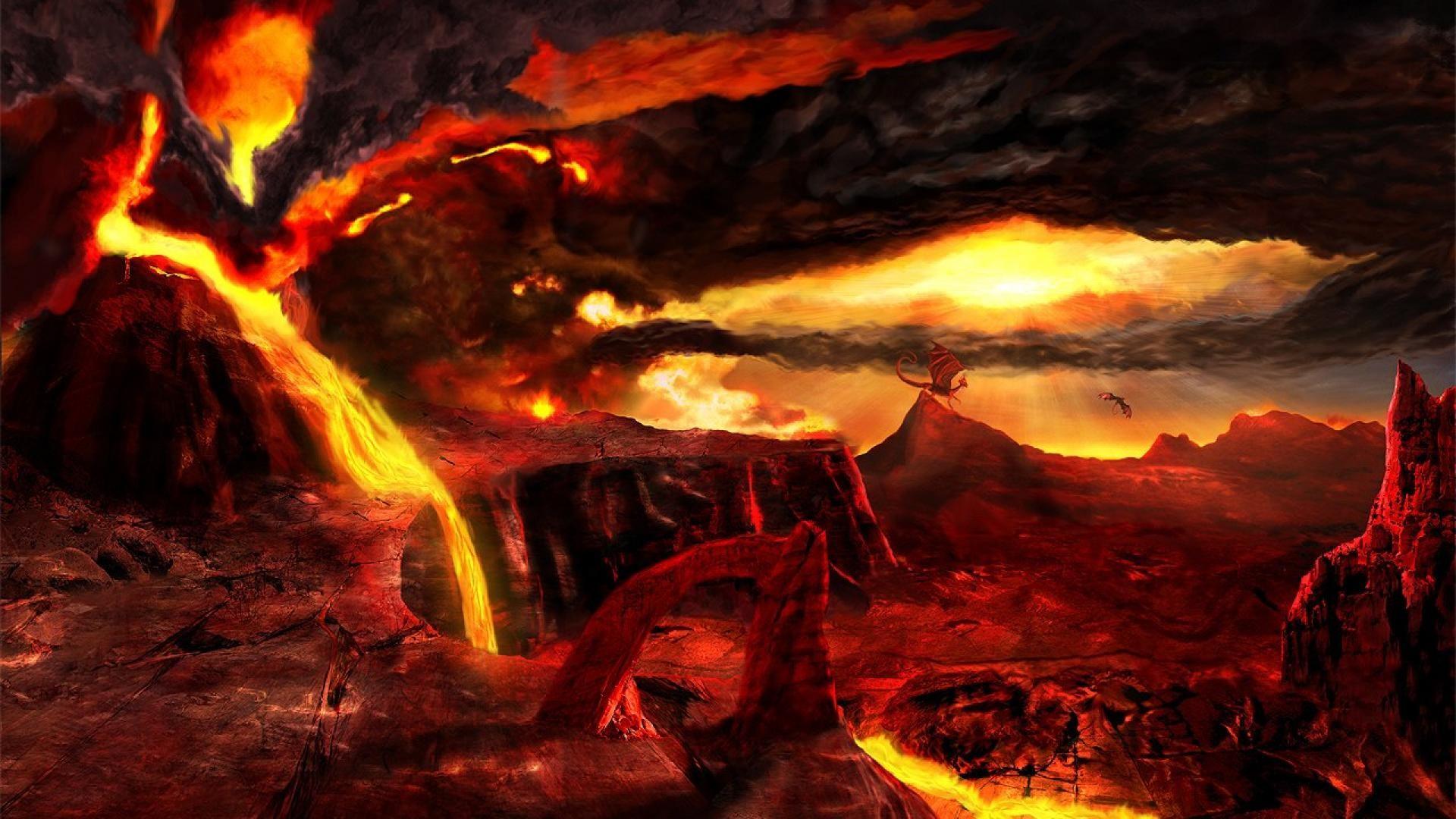 Hell Fantasy Art