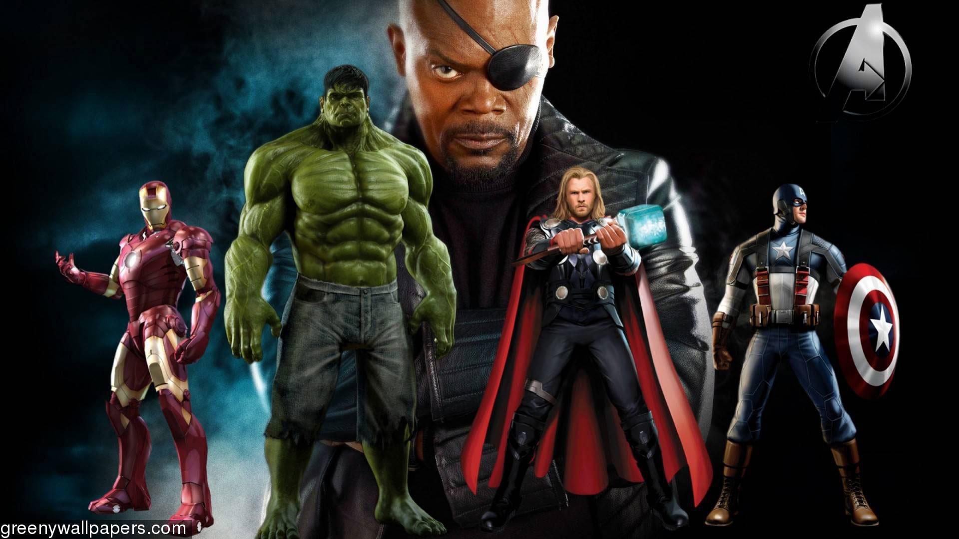 Marvel Avengers Desktop Wallpaper 79 Images