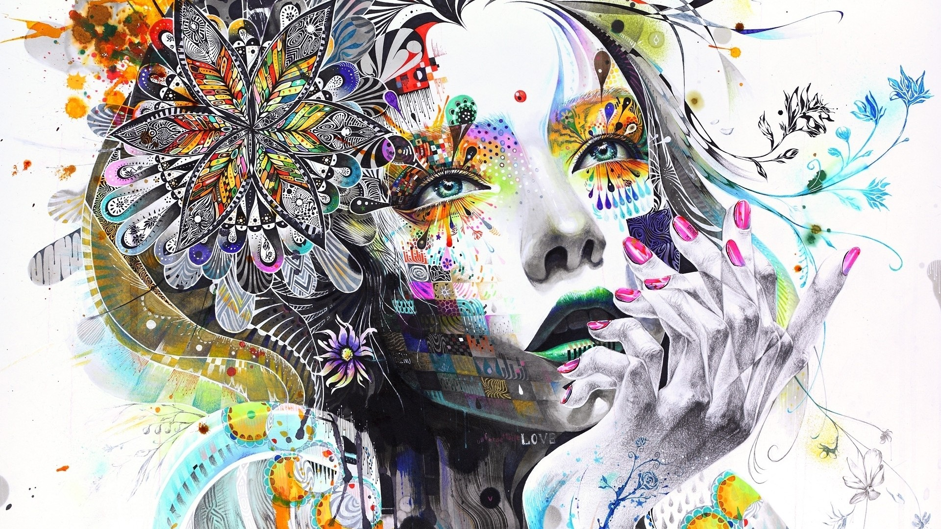 Res: 1920x1080, girl-painting-abstract-art-img.jpg