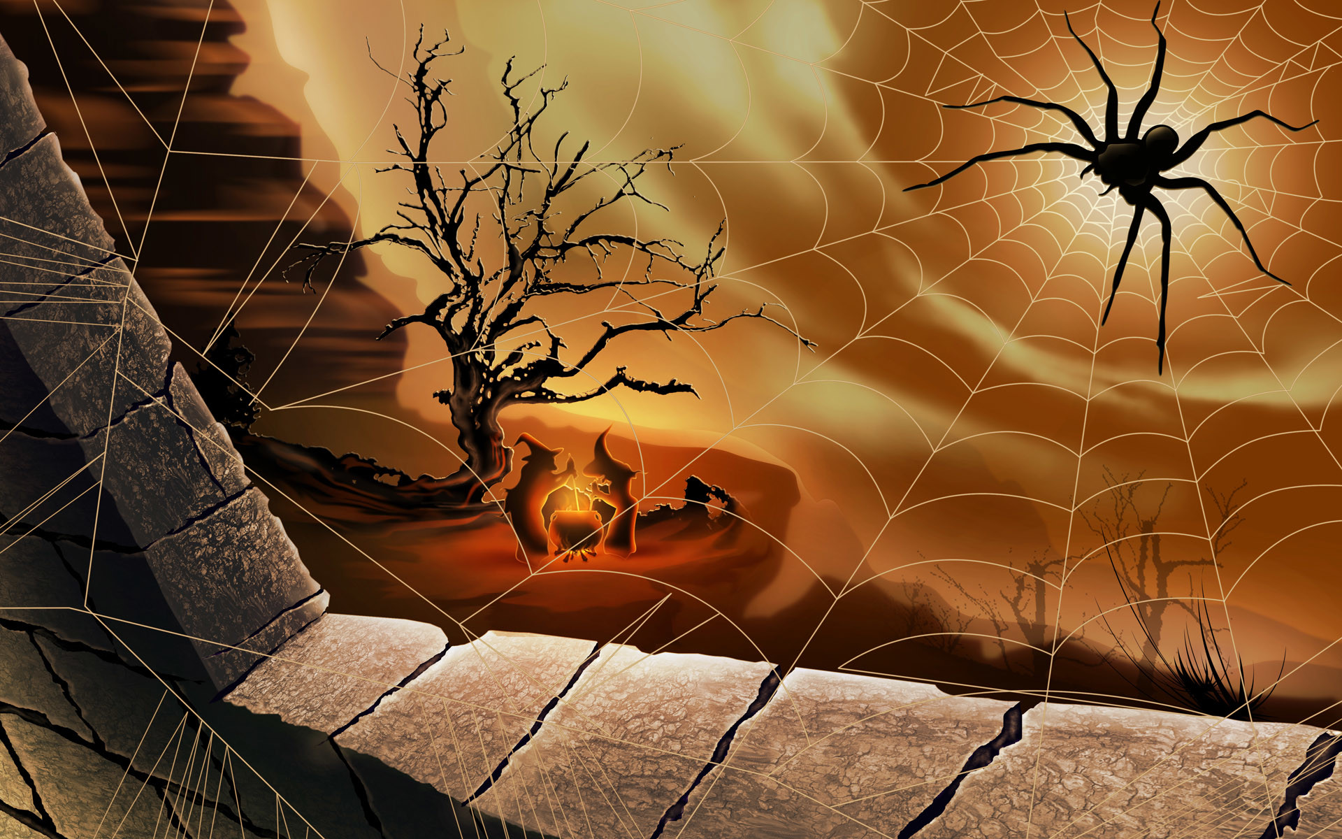 animated halloween wallpaper and screensavers 54 images