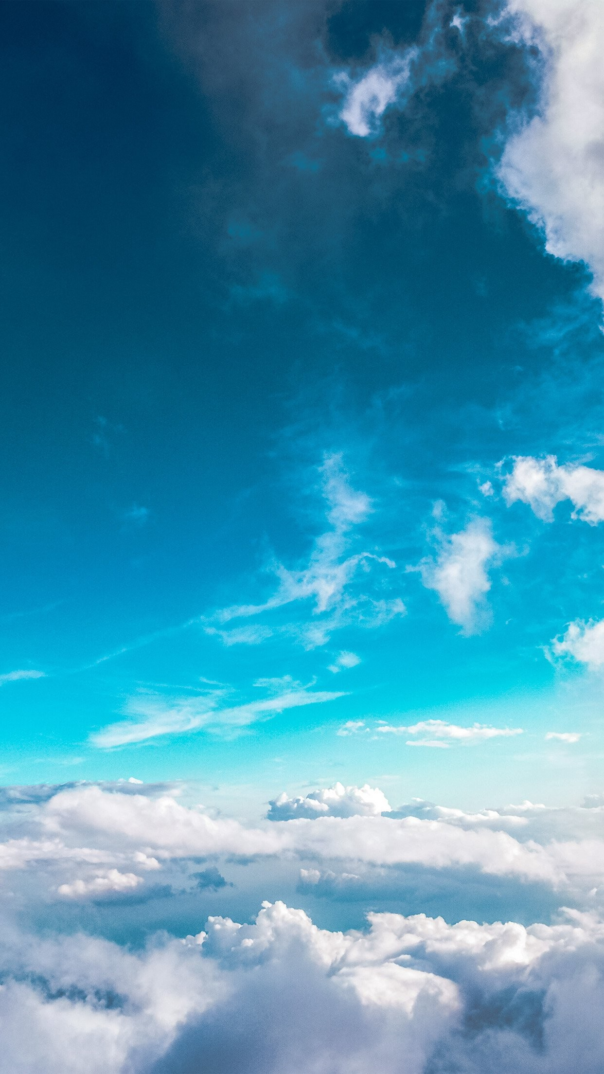 1242x2208 Sky Cloud Fly Blue Summer Sunny #iPhone #6 #plus #wallpaper