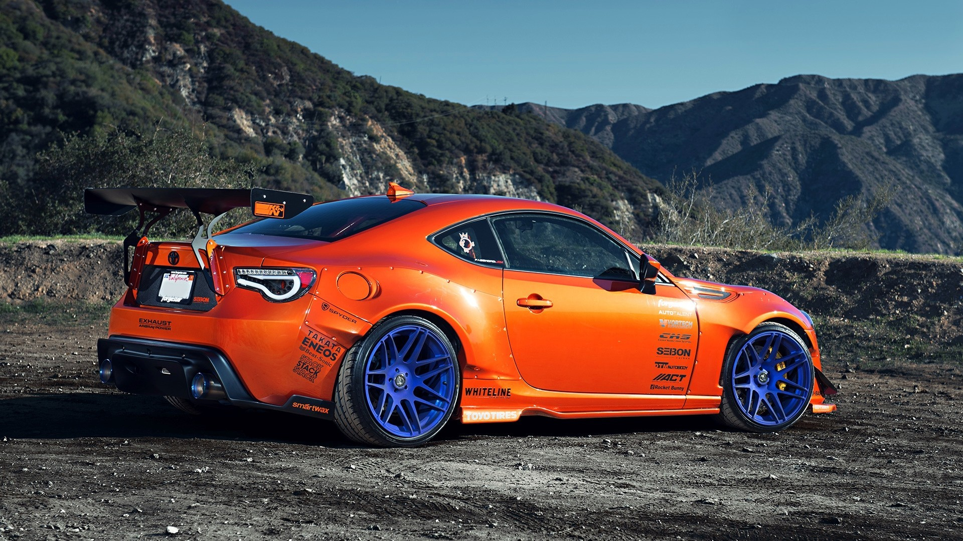 1920x1080 Scion Frs Rocket Bunny Wallpaper