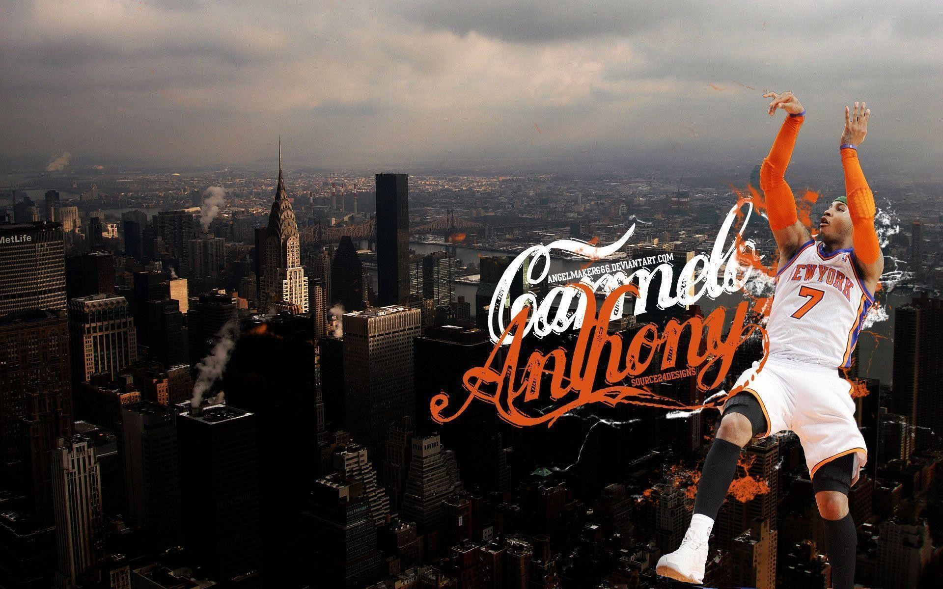 1920x1200 Carmelo Anthony Knicks Wallpapers Wallpaper Cave
