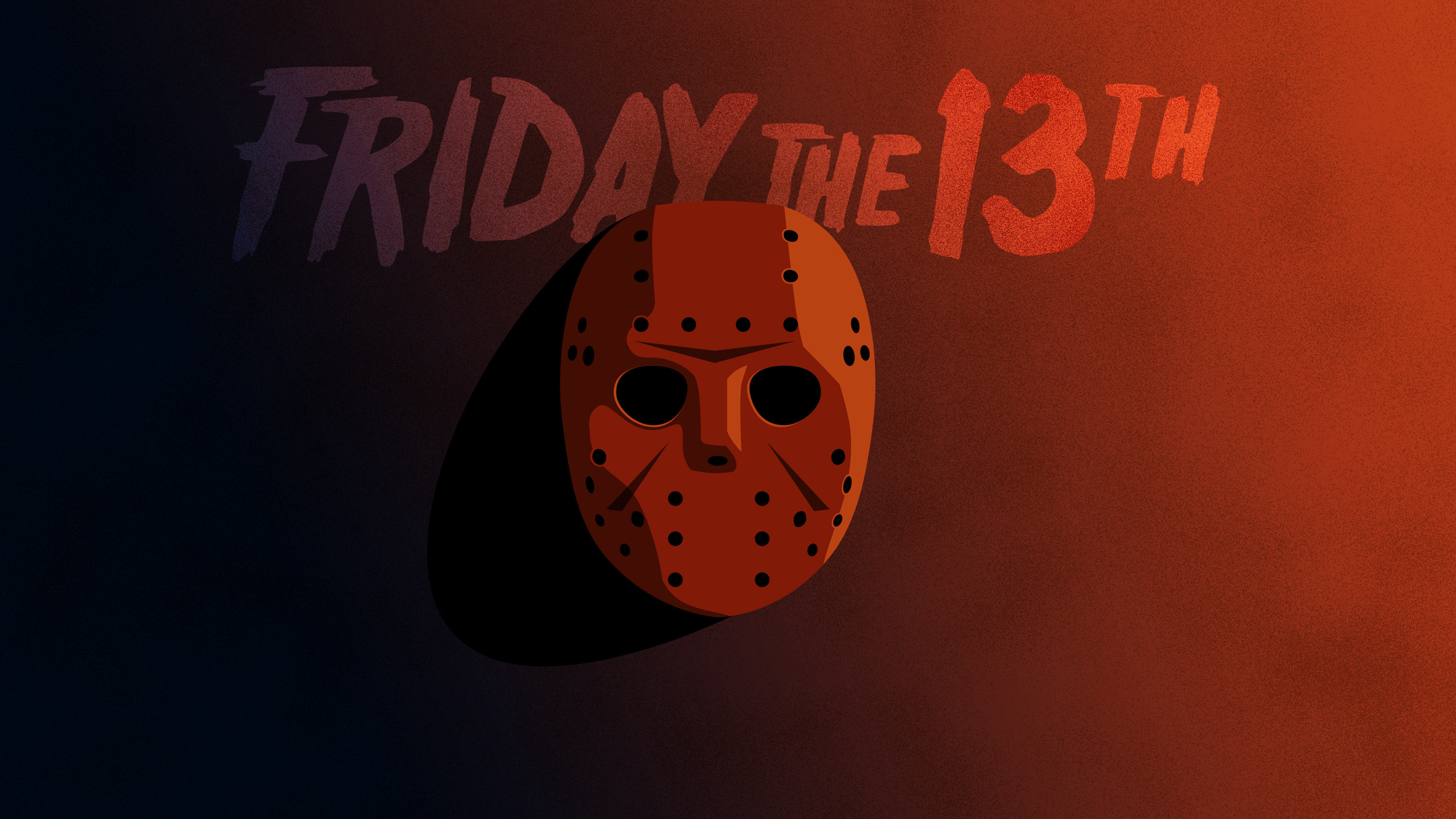 3000x1688 Friday the 13th Minimal