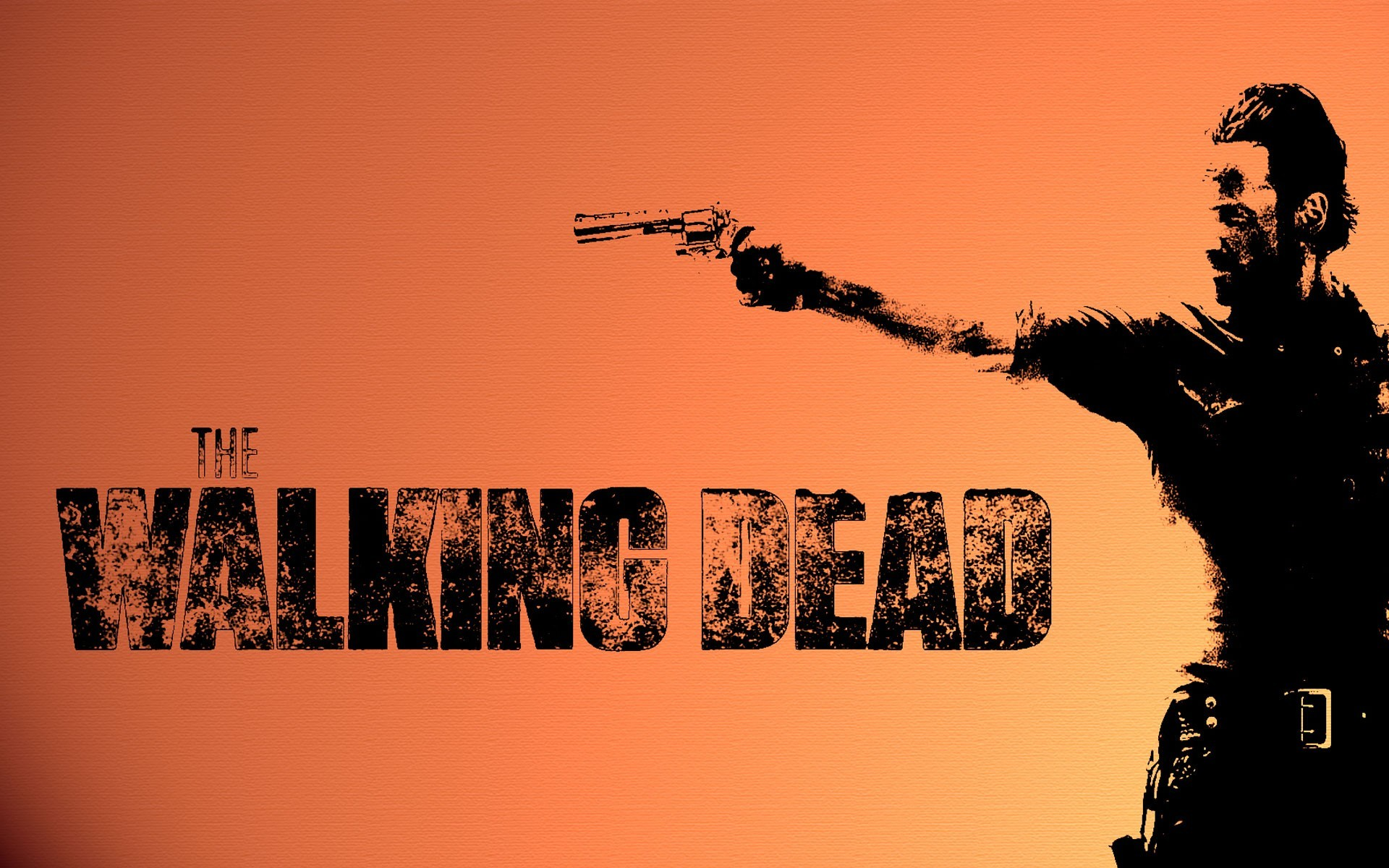 1920x1200  The Walking Dead televion zombies weapons guns wallpaper  background