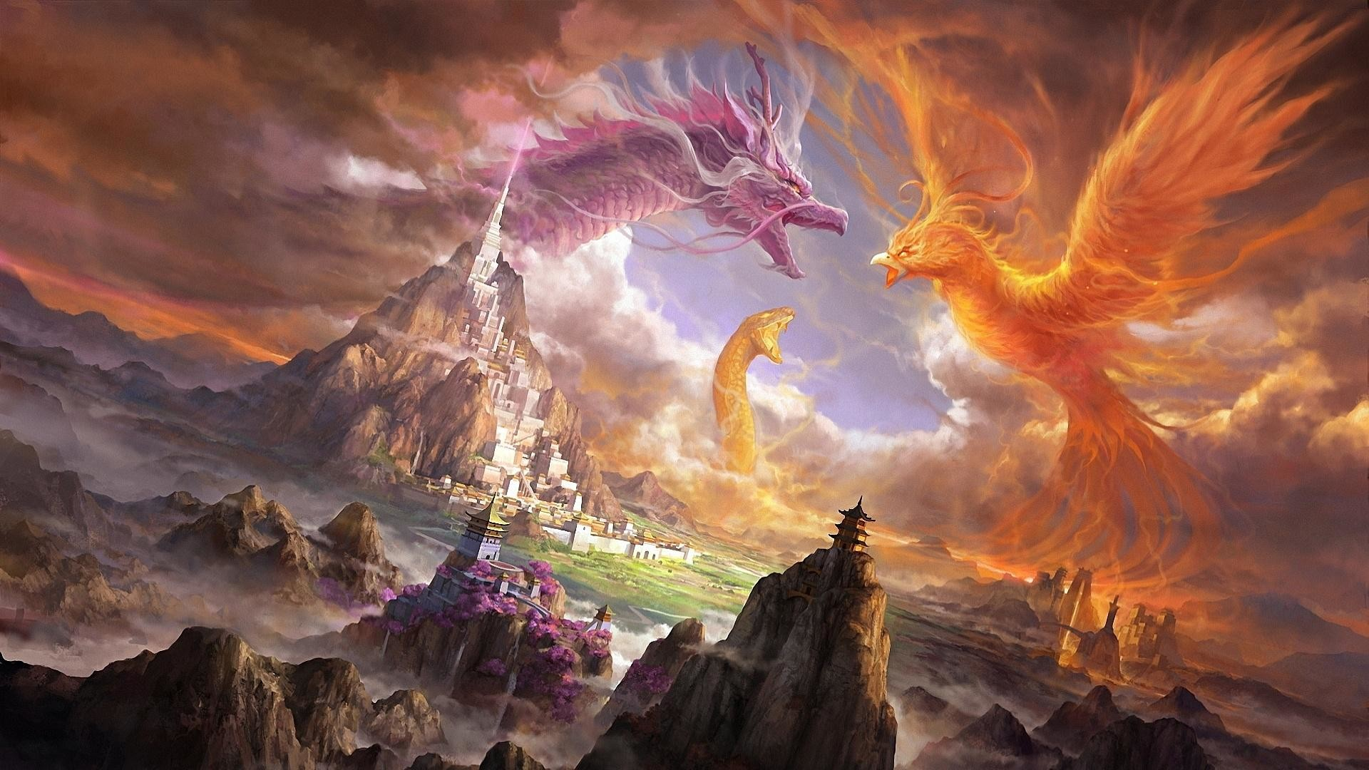 Phoenix Bird HD Wallpaper (75+ images)