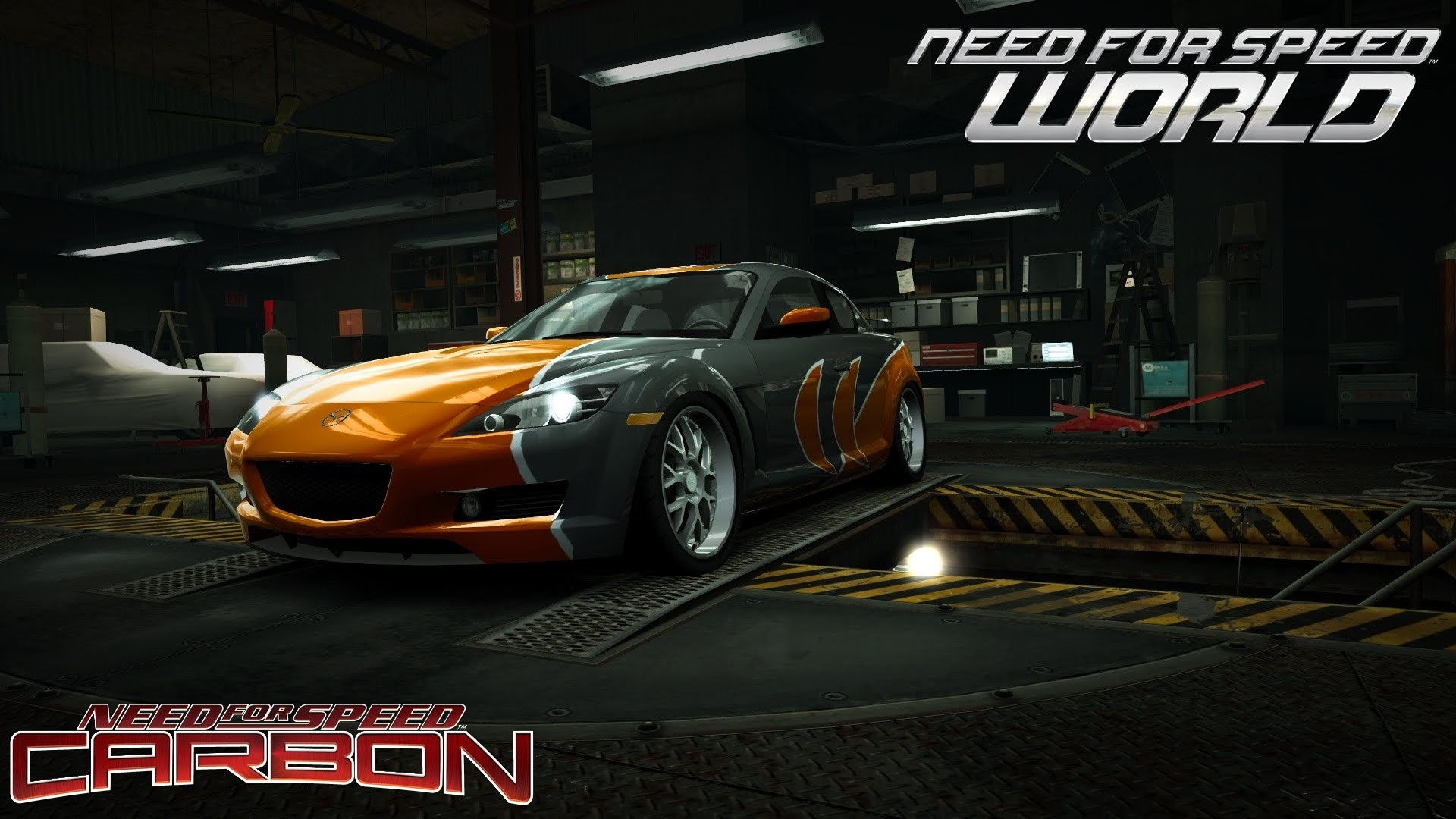 1920x1080 Need For Speed World Mazda Rx 8 Rotor 4 (NFS Carbon Bonus car) - YouTube