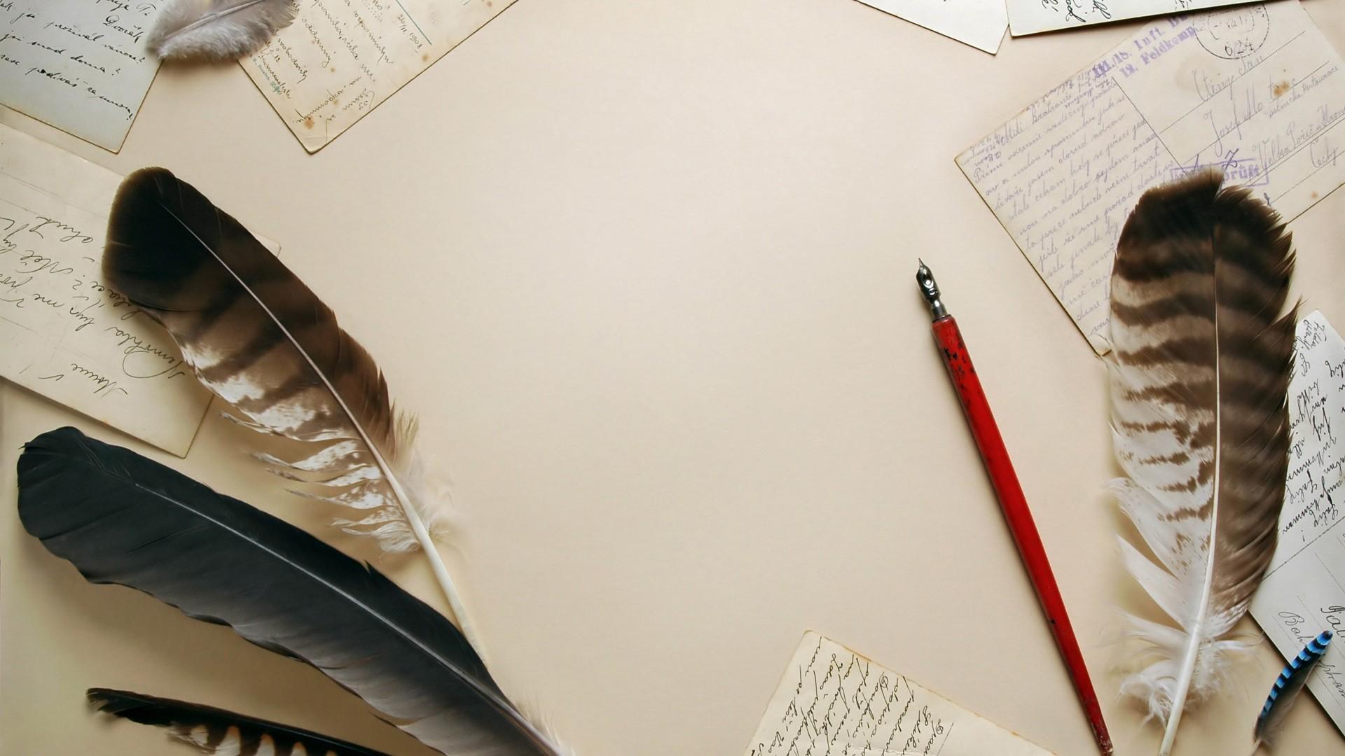 Writing Pen Wallpaper Pen and Ink Wal...