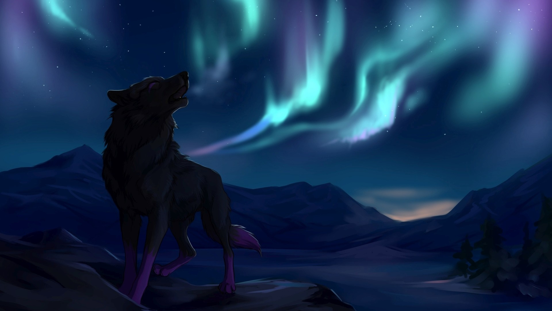 1920x1080 Wolf howling HD Wallpaper  Wolf ...