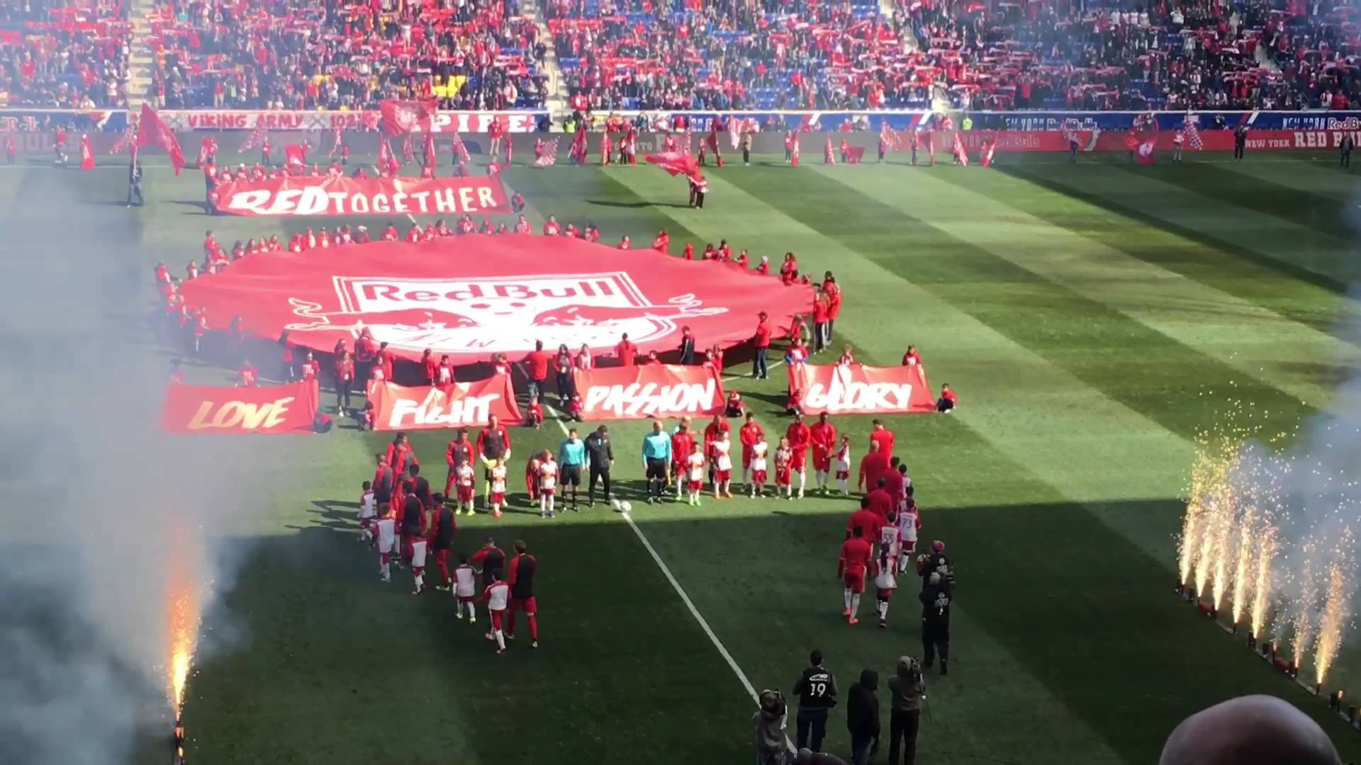 1920x1080 New York Red Bulls Opening Day 2016