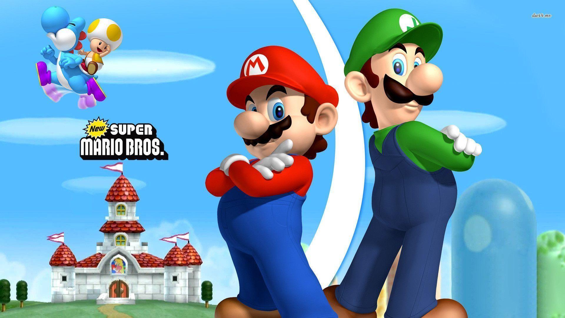 Mario and Luigi Backgrounds (54+ images)