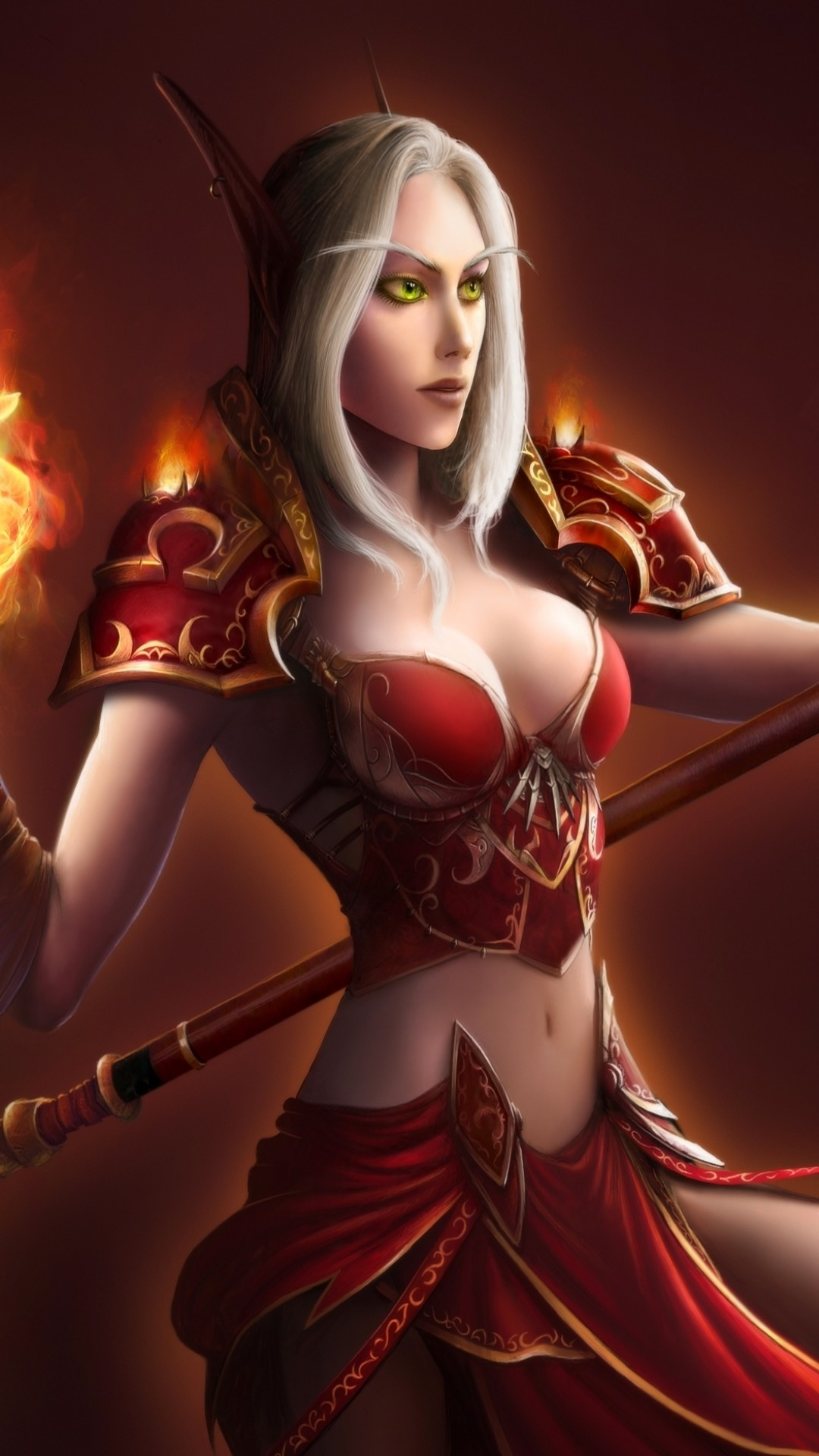 [47+] Fantasy Female Warrior Wallpapers on WallpaperSafari