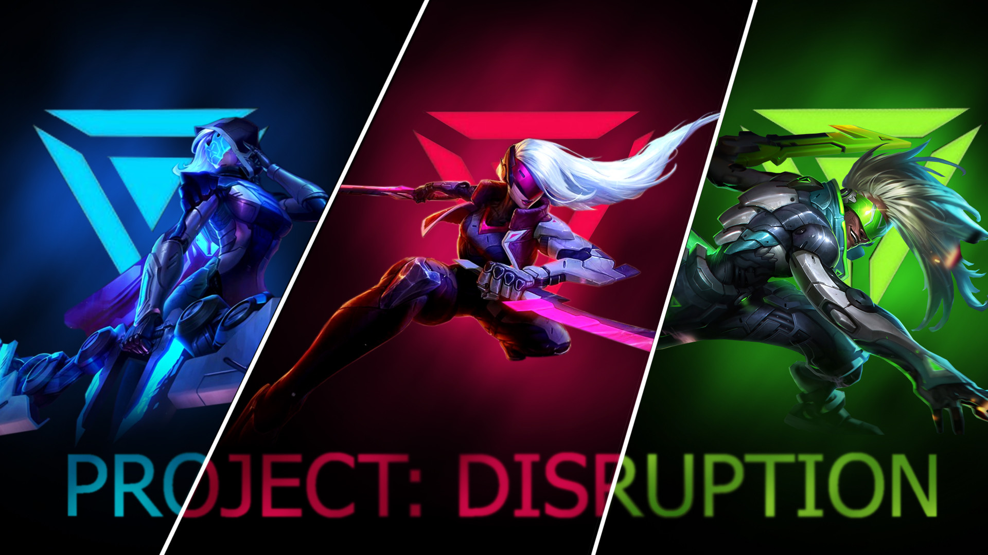 1920x1080 ... PROJECT: DISRUPTION Wallpaper - League of Legends by Sammylad298