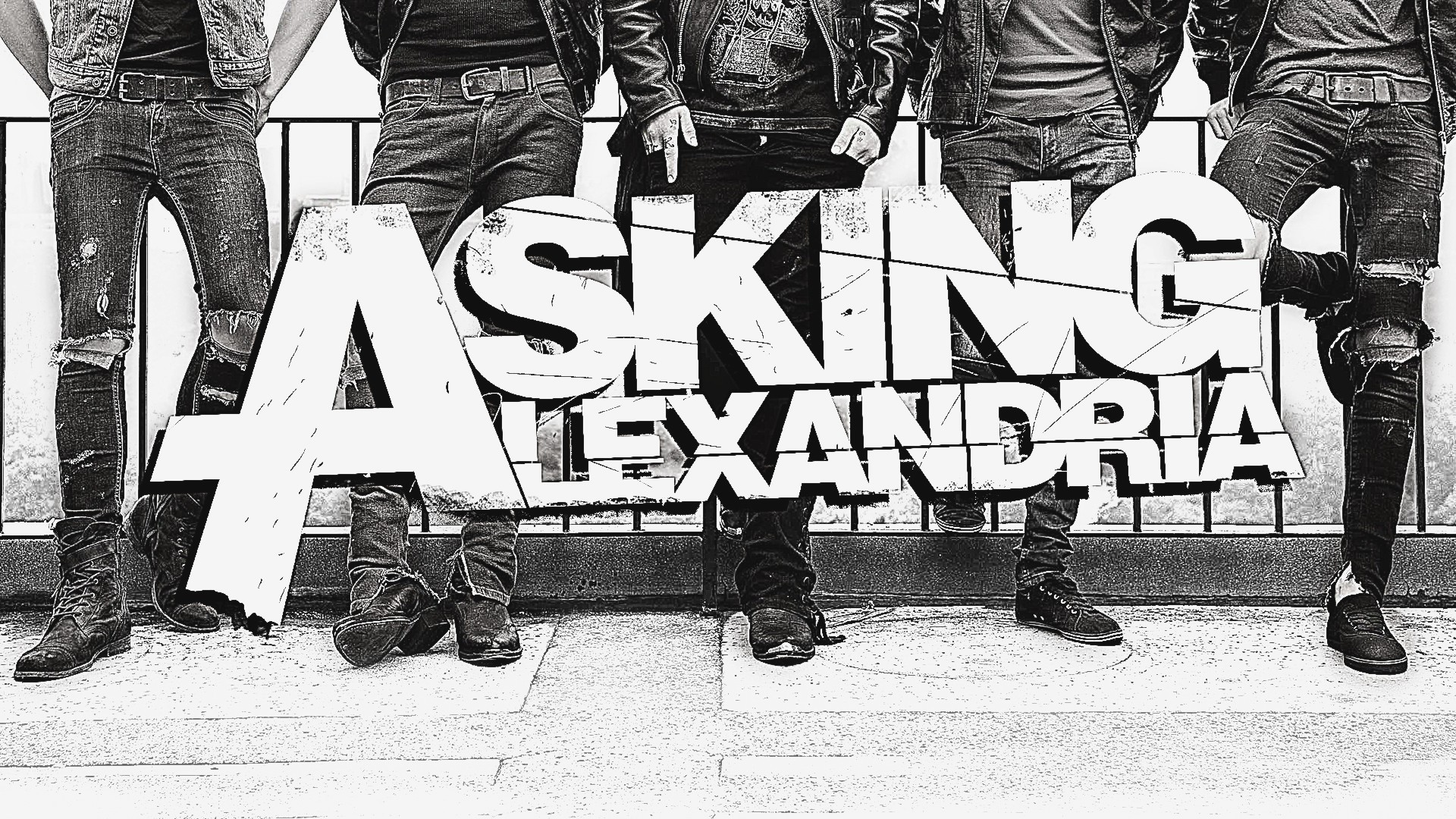 1920x1080 Asking Alexandria High Definition
