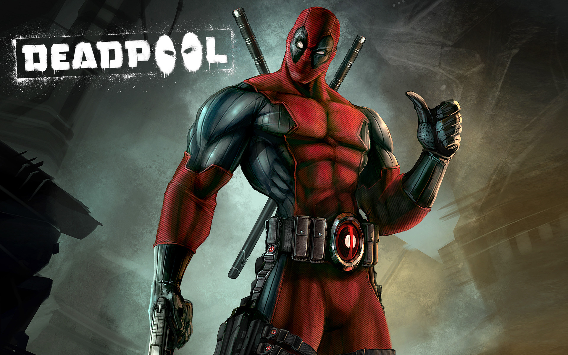 1920x1200 Heroes comics Deadpool superhero Games wallpaper background