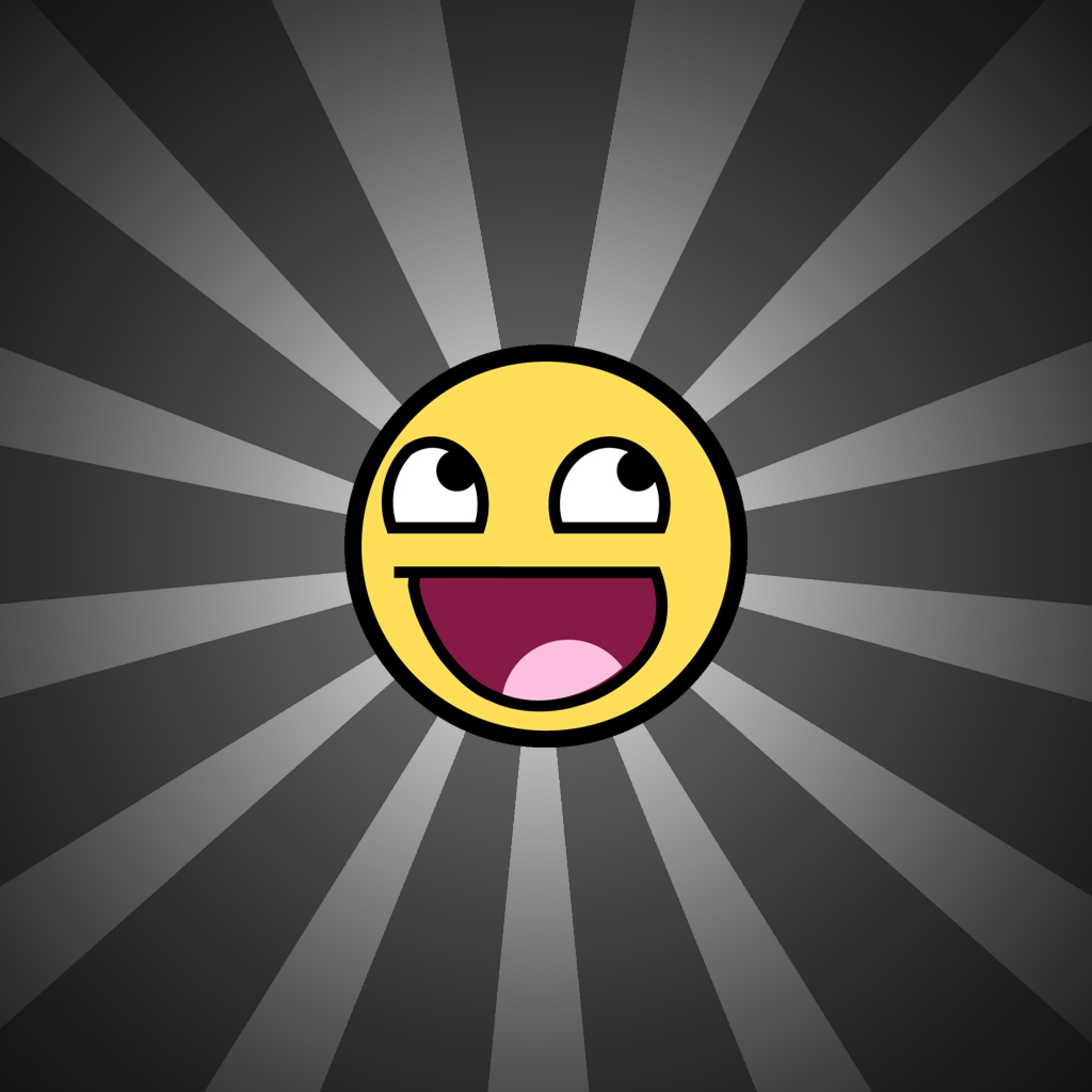2048x2048 wallpaper.wiki-Awesome-smiley-Cool-iPad-Images-PIC-