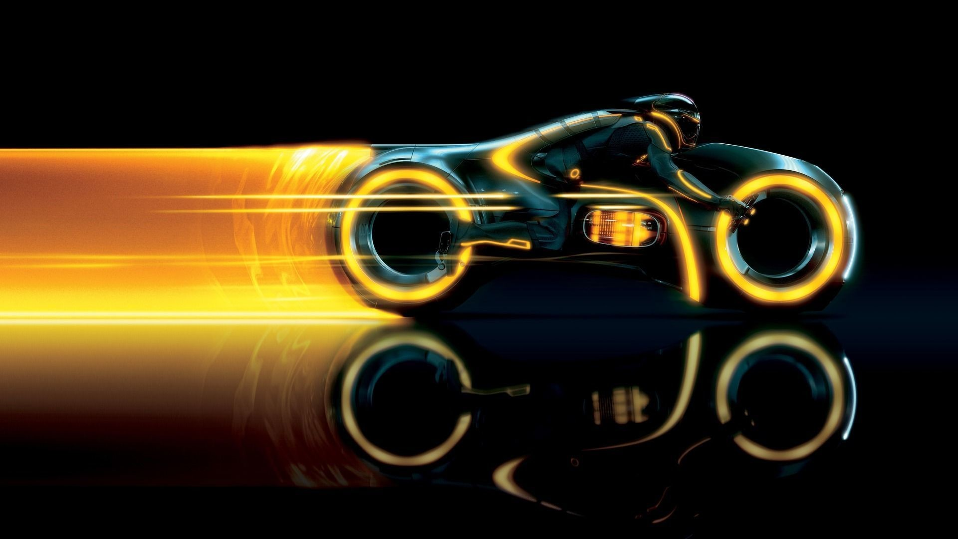 1920x1080 TRON bike from TRON:Legacy Wallpaper 27633