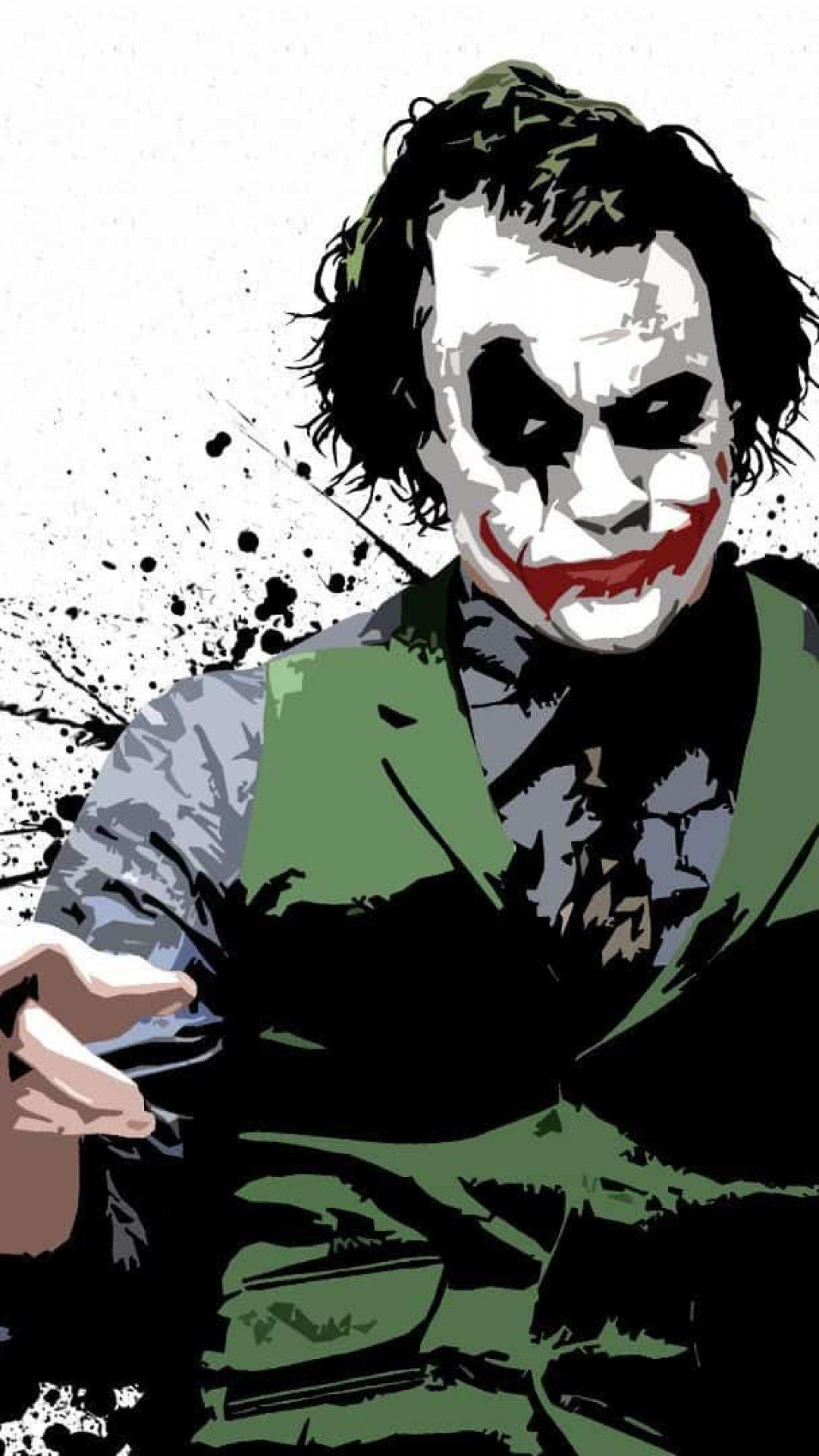 1080x1920 batman joker wallpaper hd