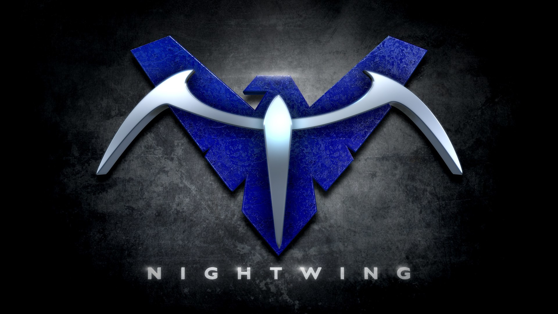 Nightwing Symbol Wallpaper hd images
