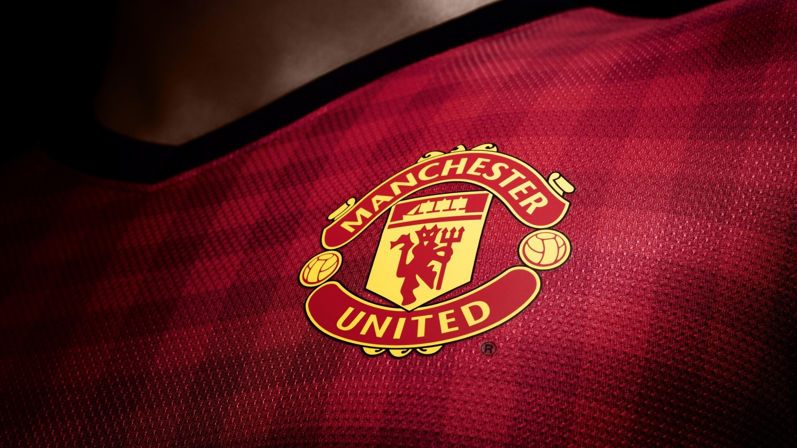 2560x1440 Manchester United, Soccer Clubs, Red Devil Wallpaper HD