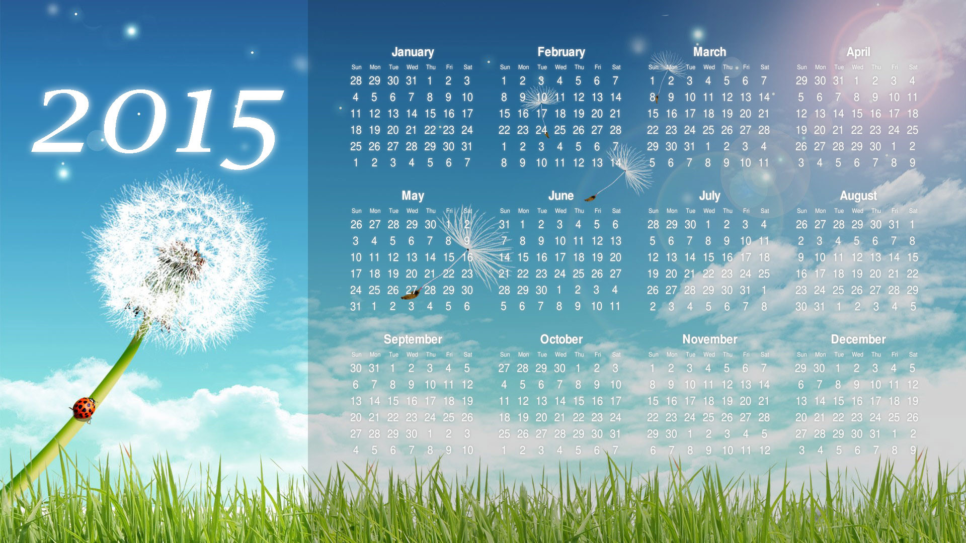 1920x1080 2015 Calendar HD Wallpapers | Download Free Desktop Wallpaper Images .