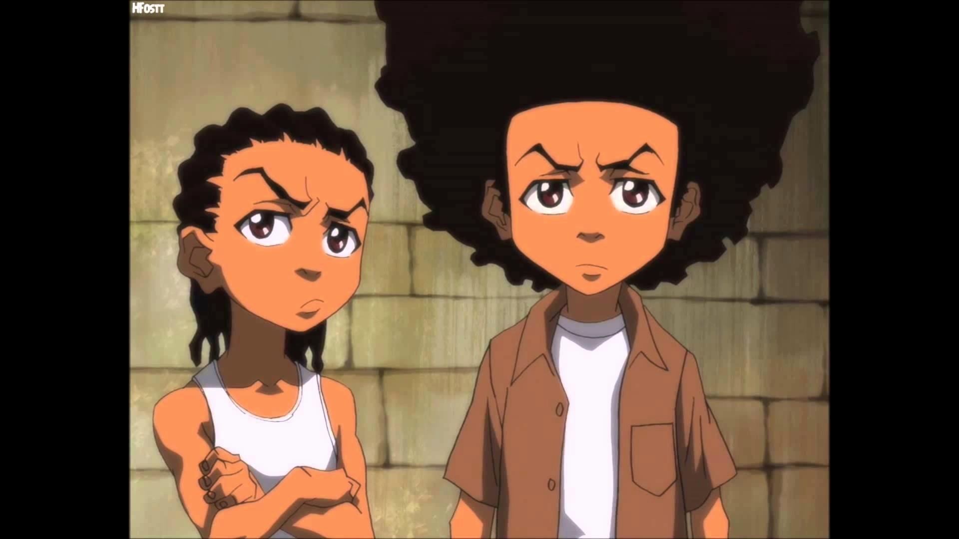 A Right to Be Hostile The Boondocks Treasury Aaron