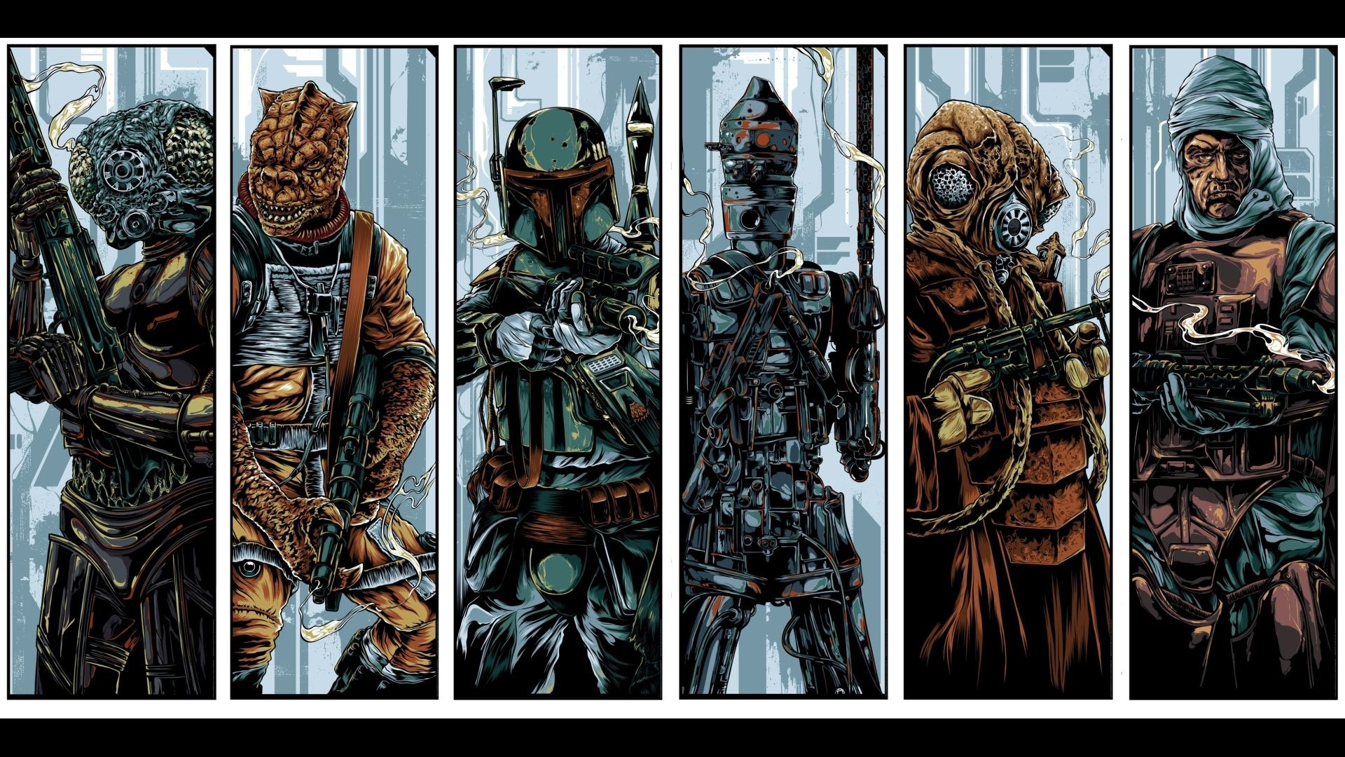 Star Wars Bounty Hunters Wallpaper 69 Images