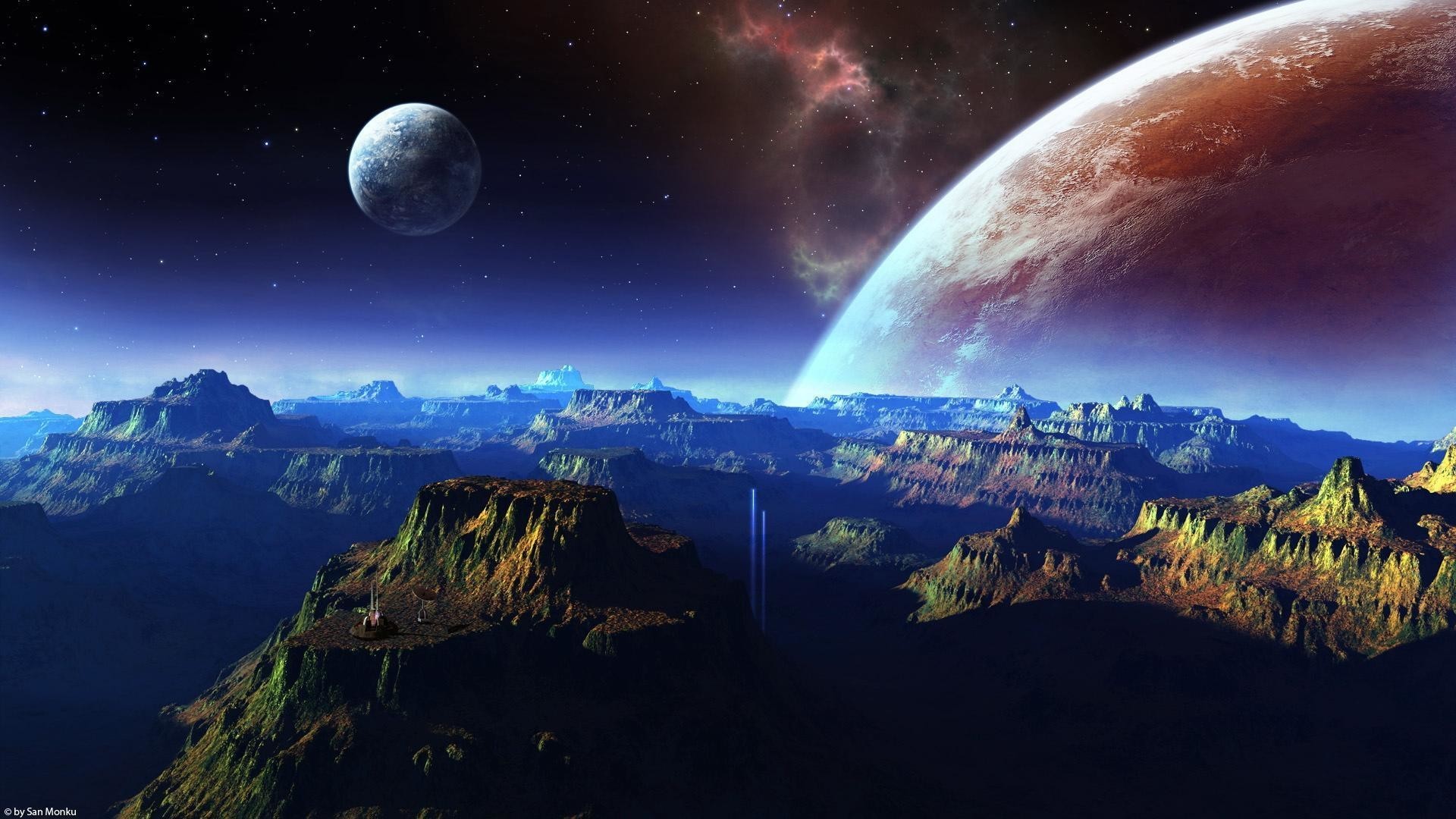 Hd wallpaper space 1080p