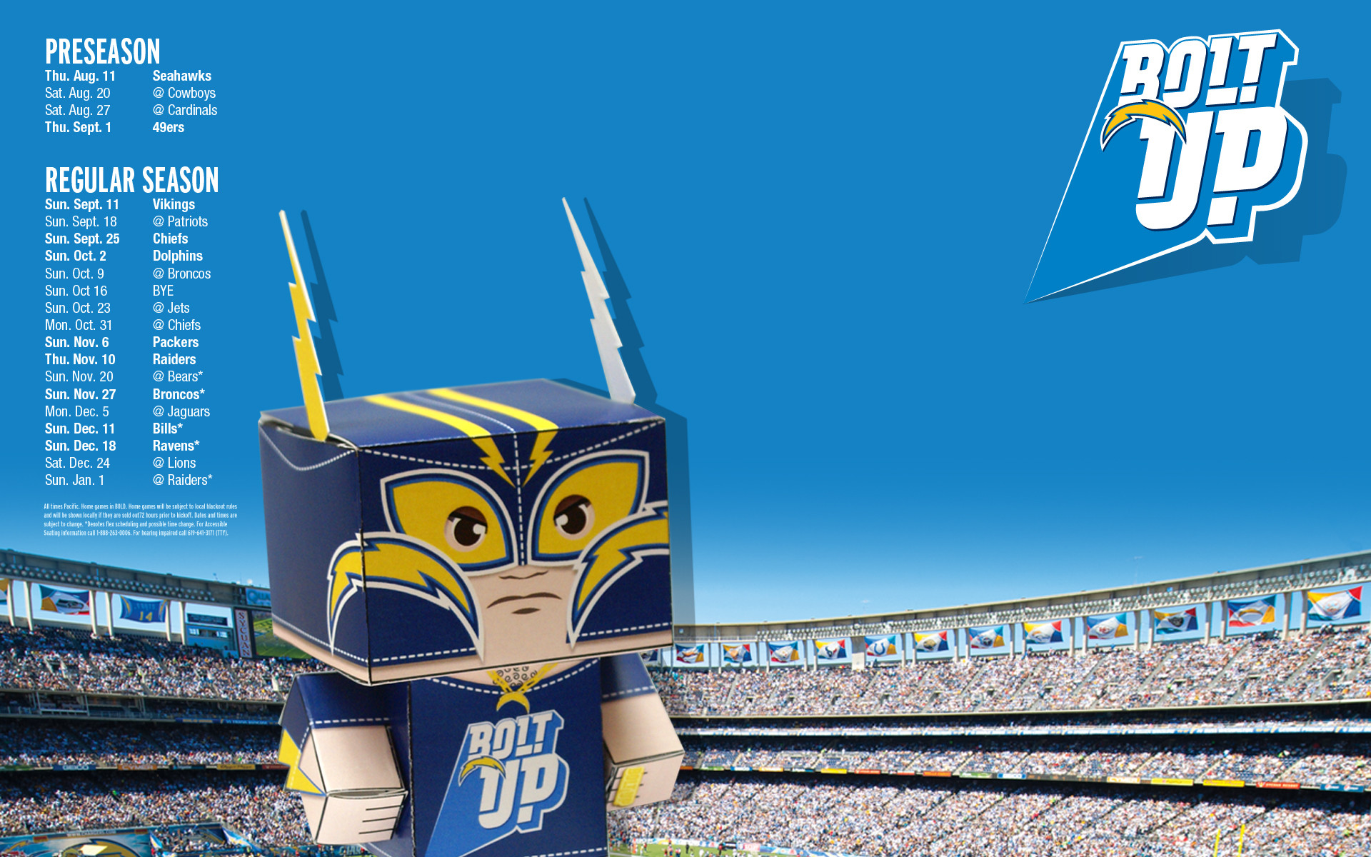 1920x1200 San Diego Chargers | Wallpaper