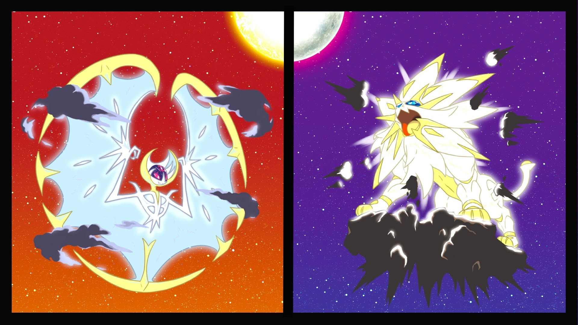 1920x1080 Solgaleo and Lunala NEW FORMS + Phase Change Theory! (Pokemon Sun and Moon)  - YouTube