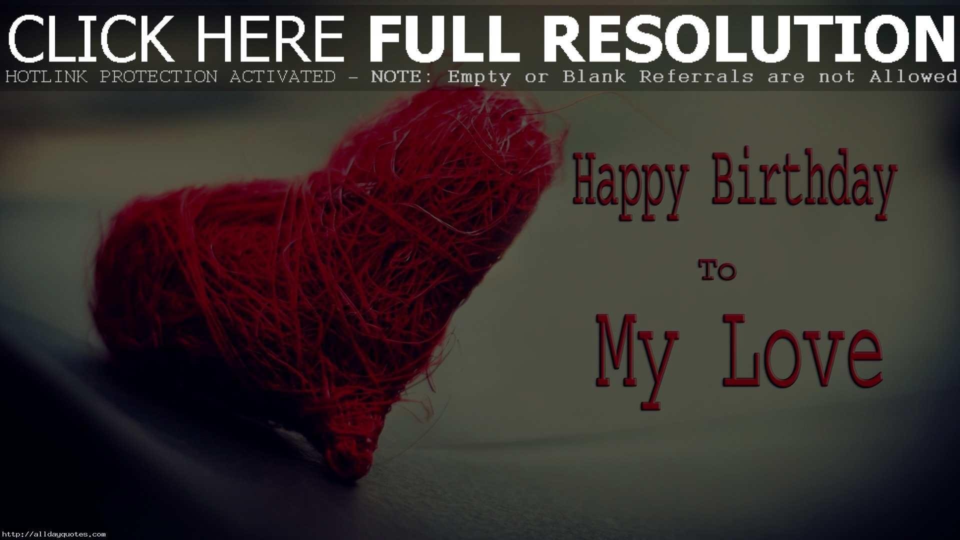 Happy Birthday Love Wallpaper 53 images