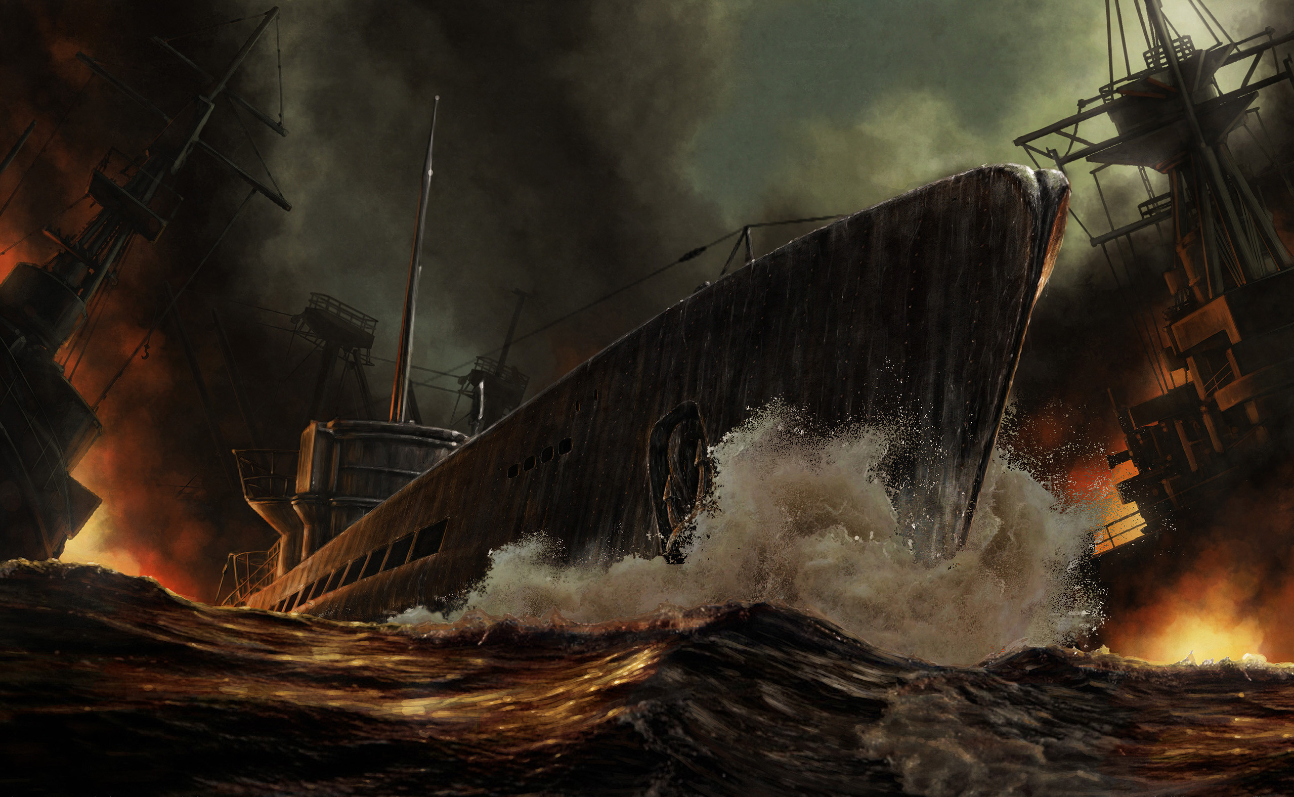 2558x1576 4 Silent Hunter 5: Battle Of The Atlantic HD Wallpapers | Backgrounds -  Wallpaper Abyss
