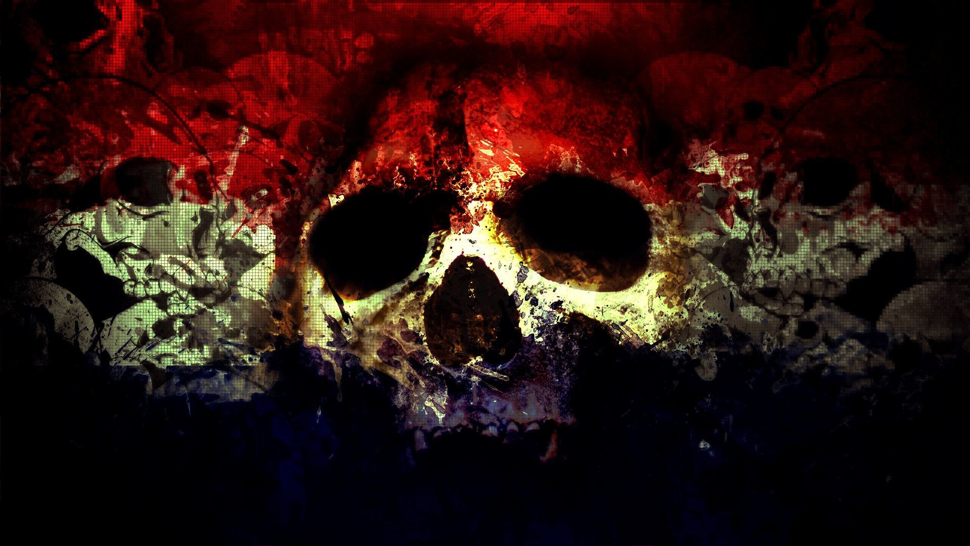 1920x1080 4. cool skull wallpapers HD4