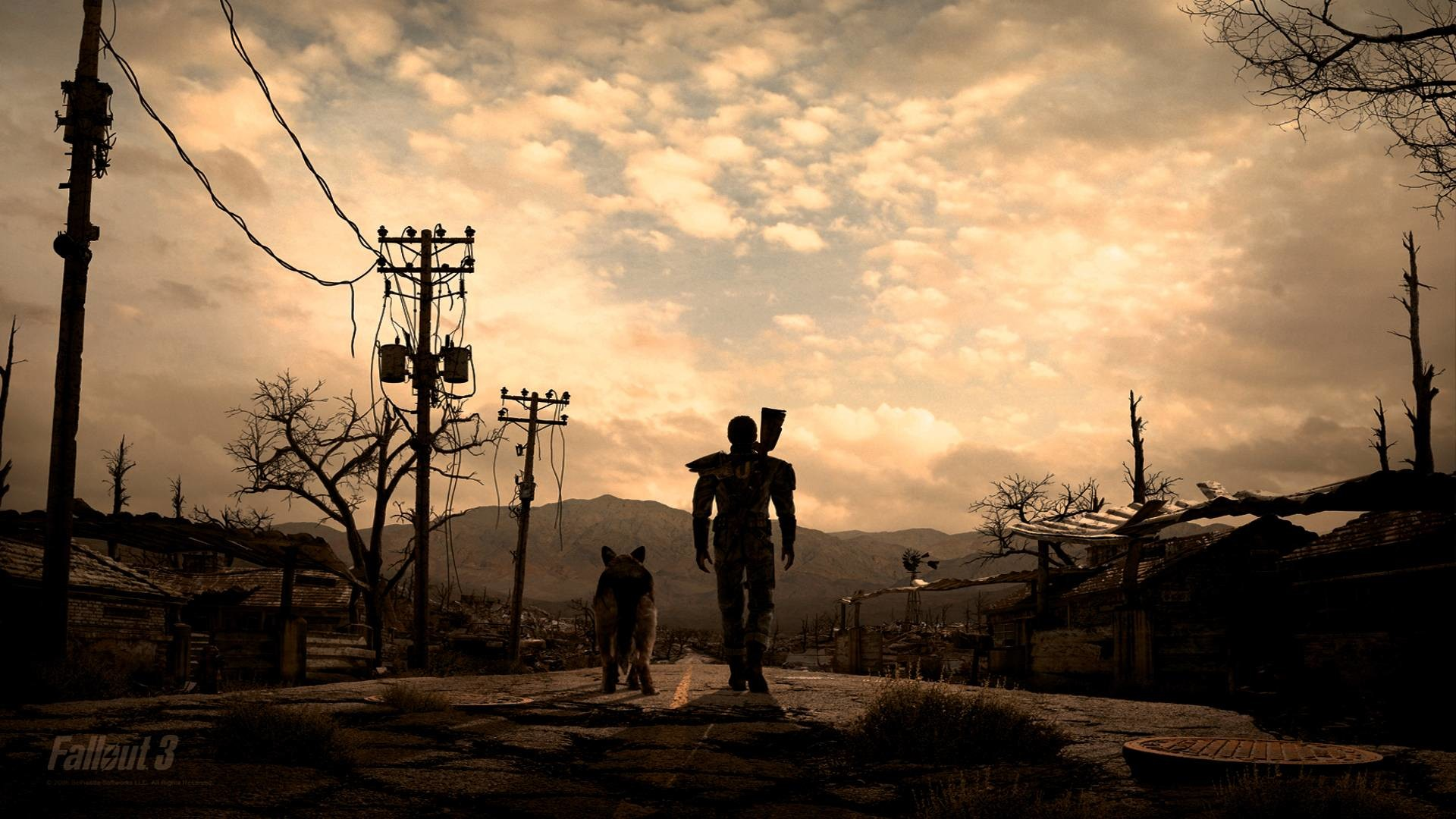 1920x1080 Pix For > Fallout 3 Fan Art Wallpaper