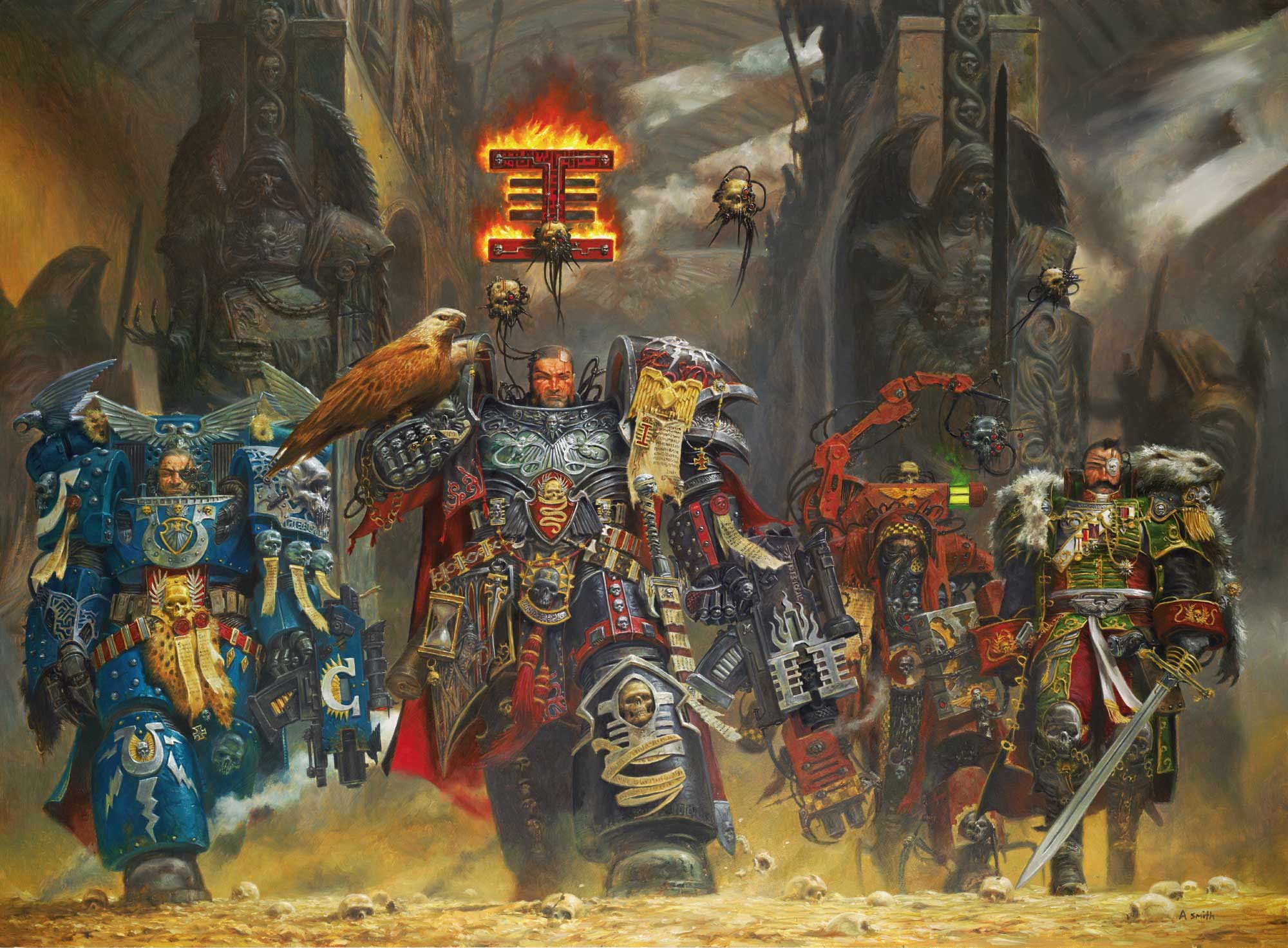 2000x1473 The Inquisition warhammer