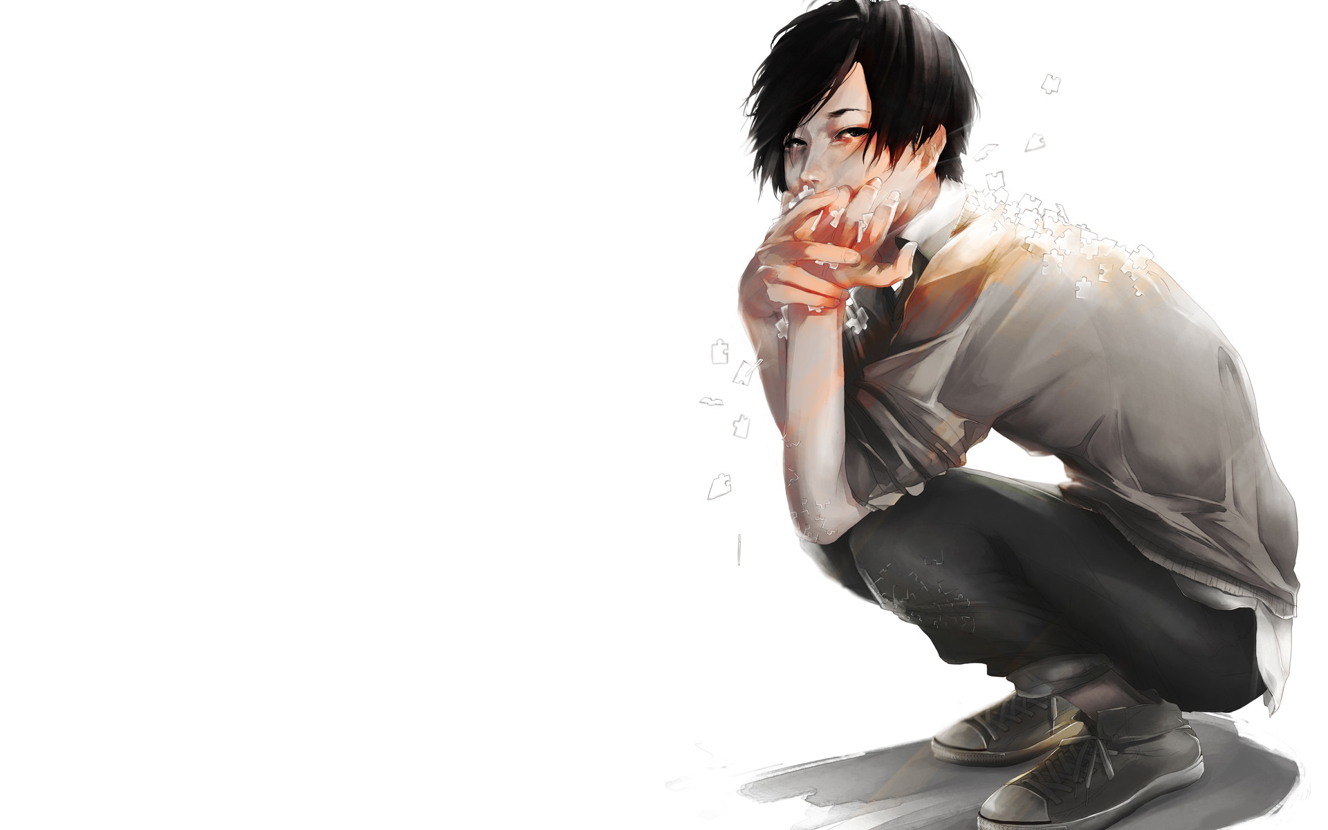 Stunning Anime Wallpaper Sad Boy HD Images