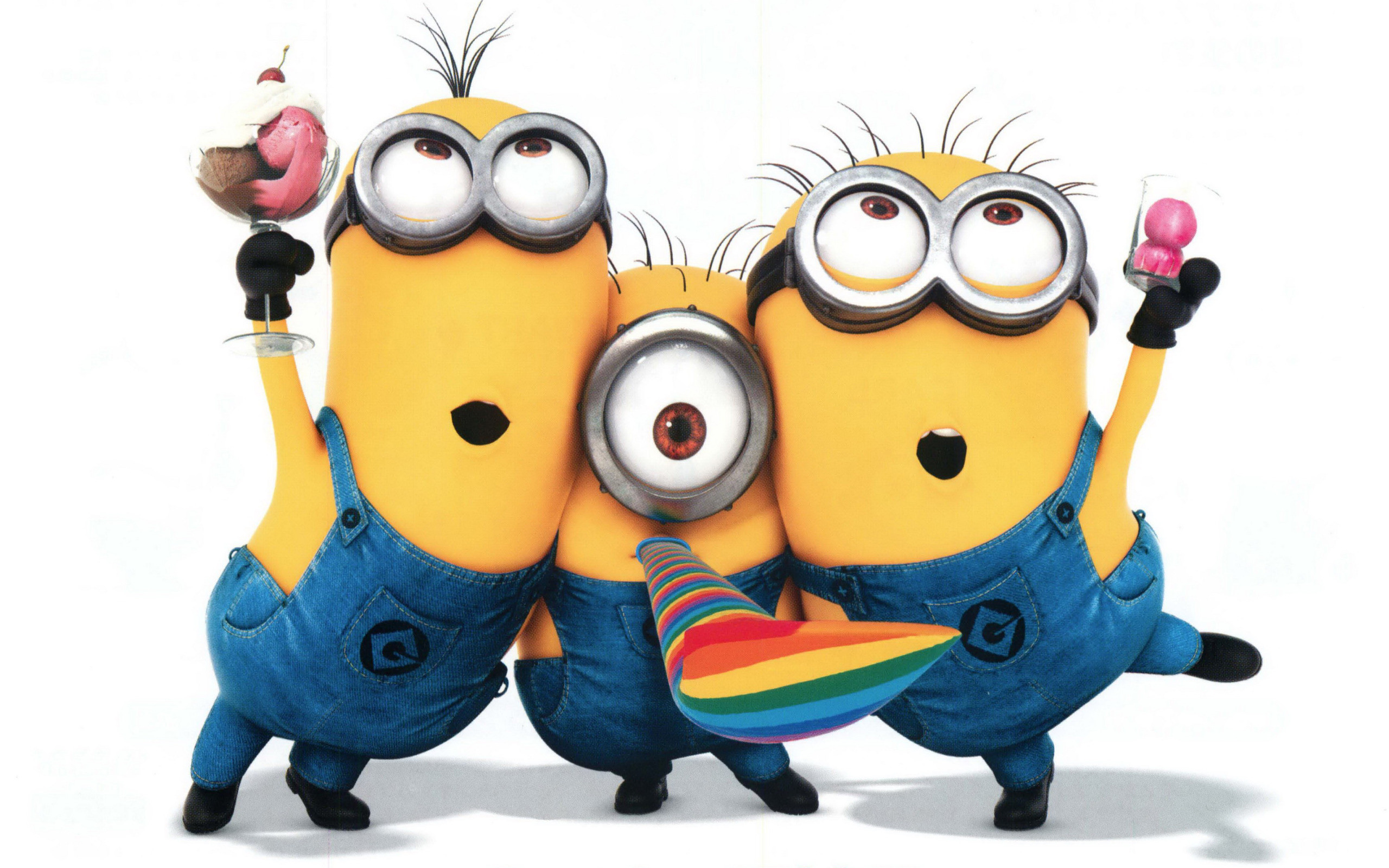 2560x1600 Despicable Me 2 Minions wallpaper