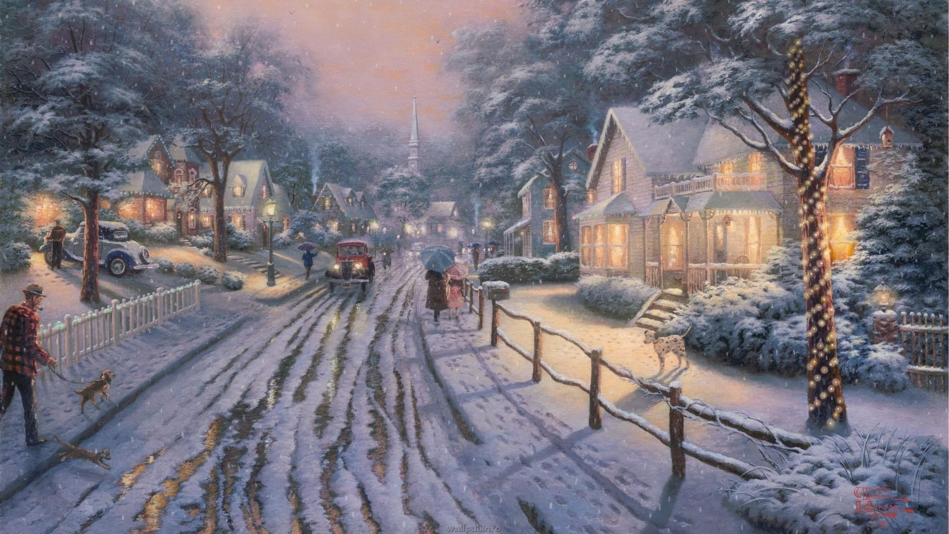 Celebration Winter Wallpaper Computer Backgrounds Download 2560x1440 Snowy Desktop 3D